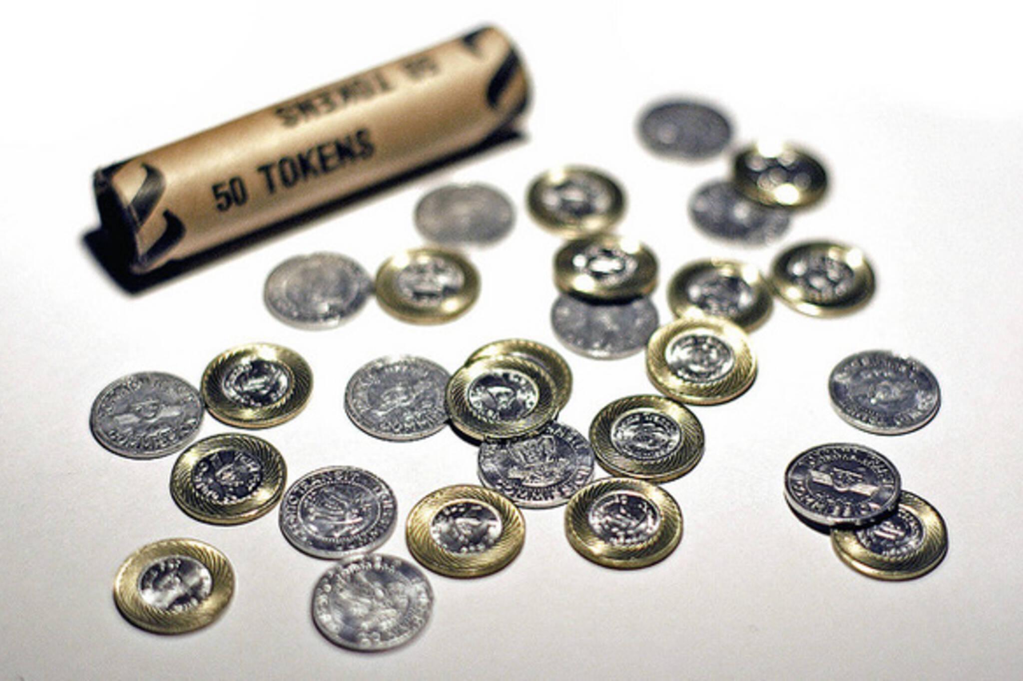 TTC Fare Hike tokens