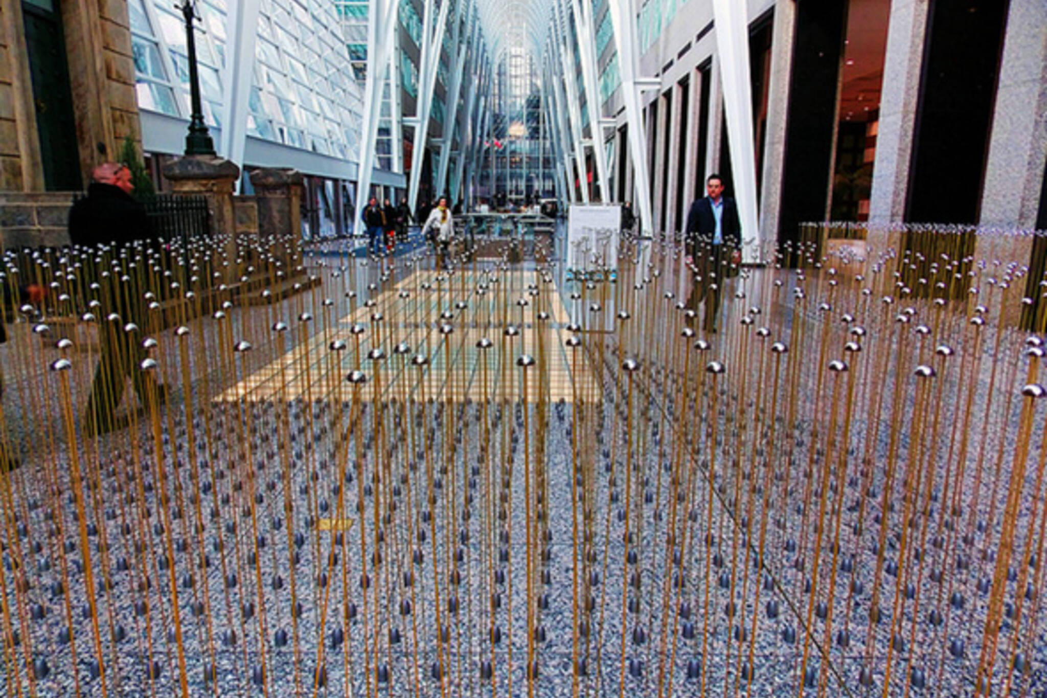 Enclosed Field Brookfield Place