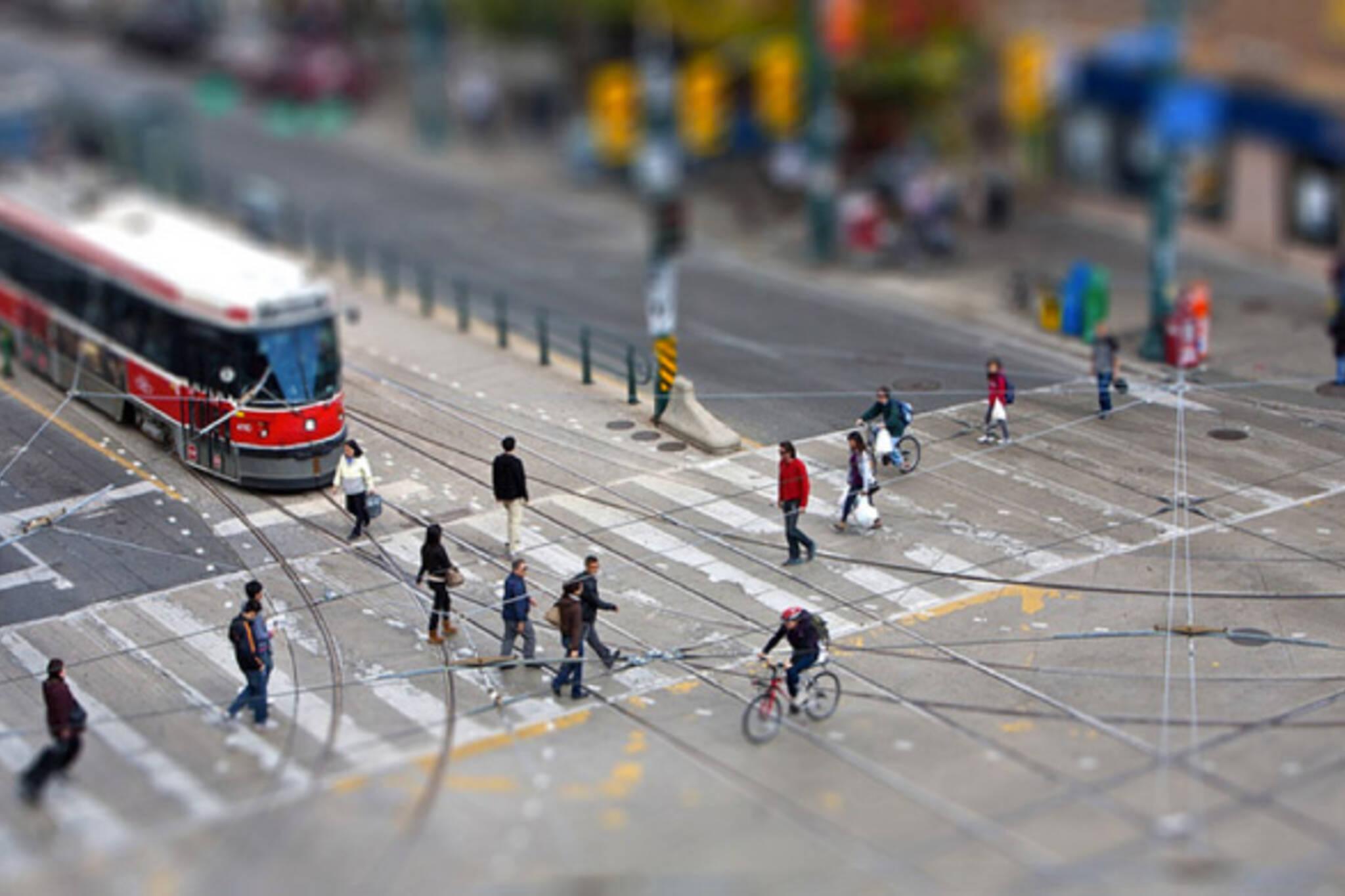 Tilt shift Toronto