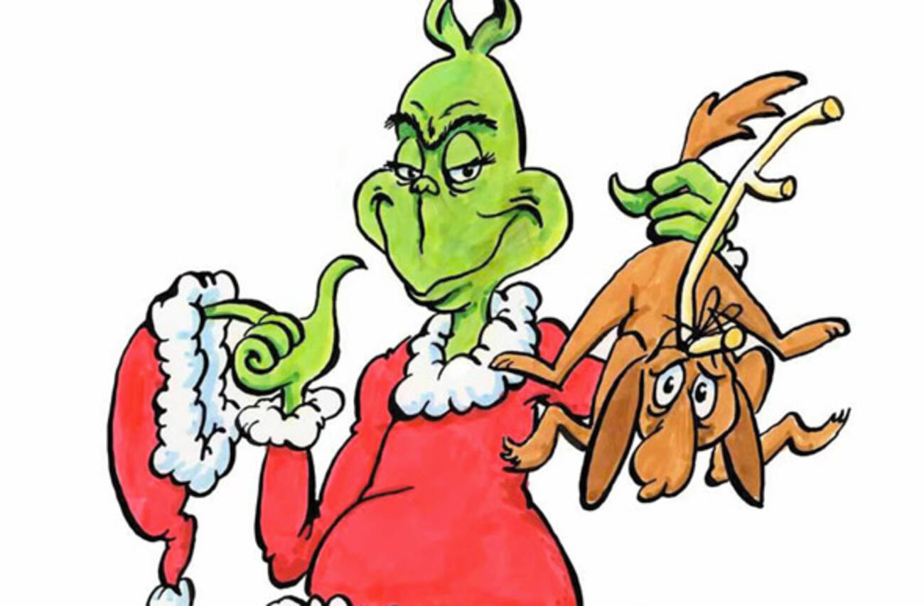 Uncategorized The Grinch And His Dog the fast romantics cover grinch