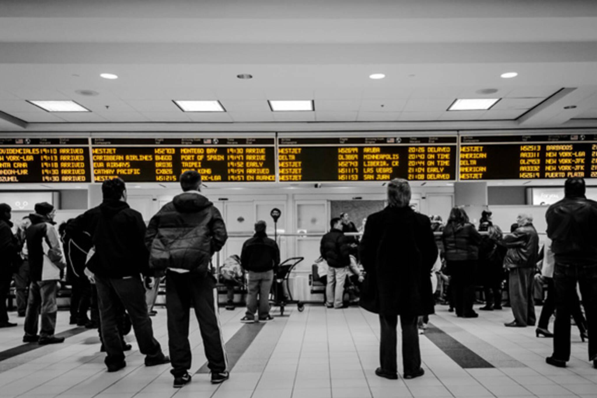 Toronto airport delays
