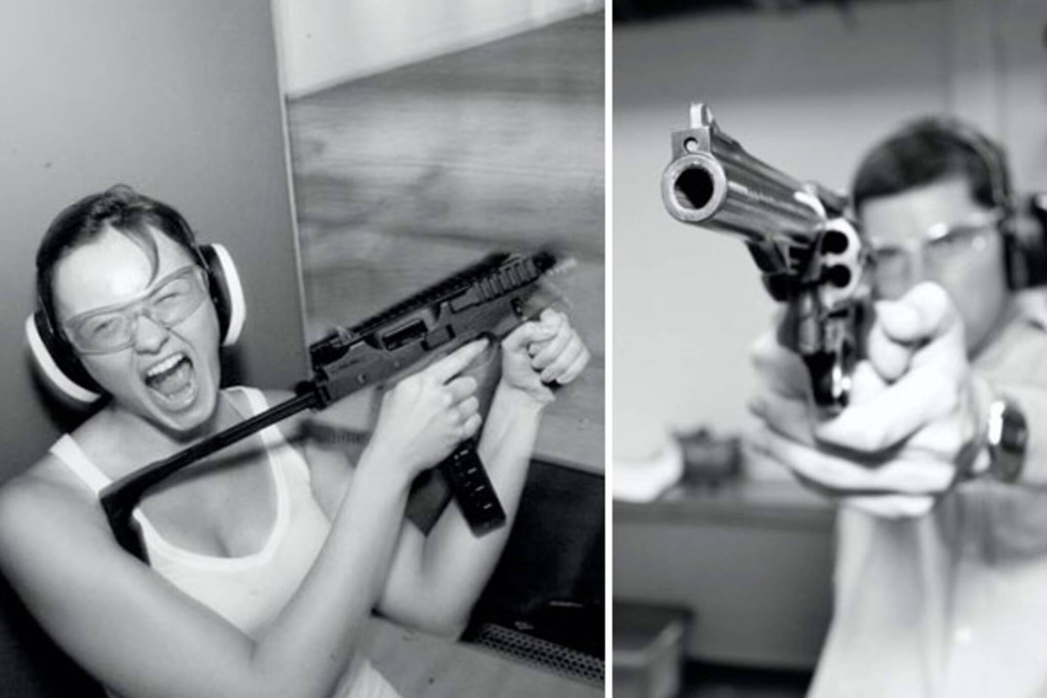 toronto shooting ranges guns