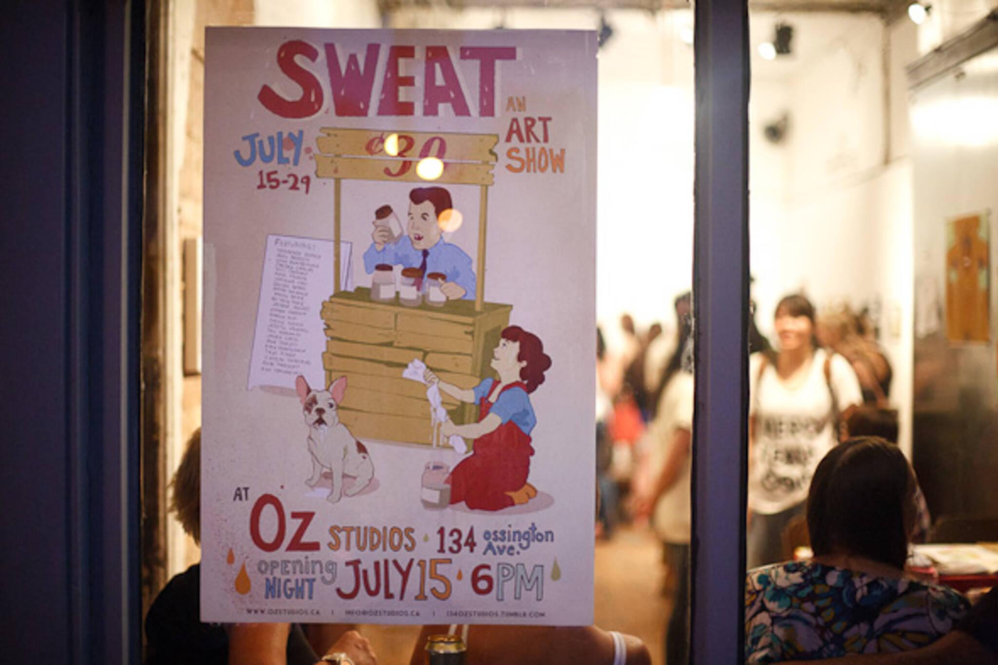 Sweat Art Show