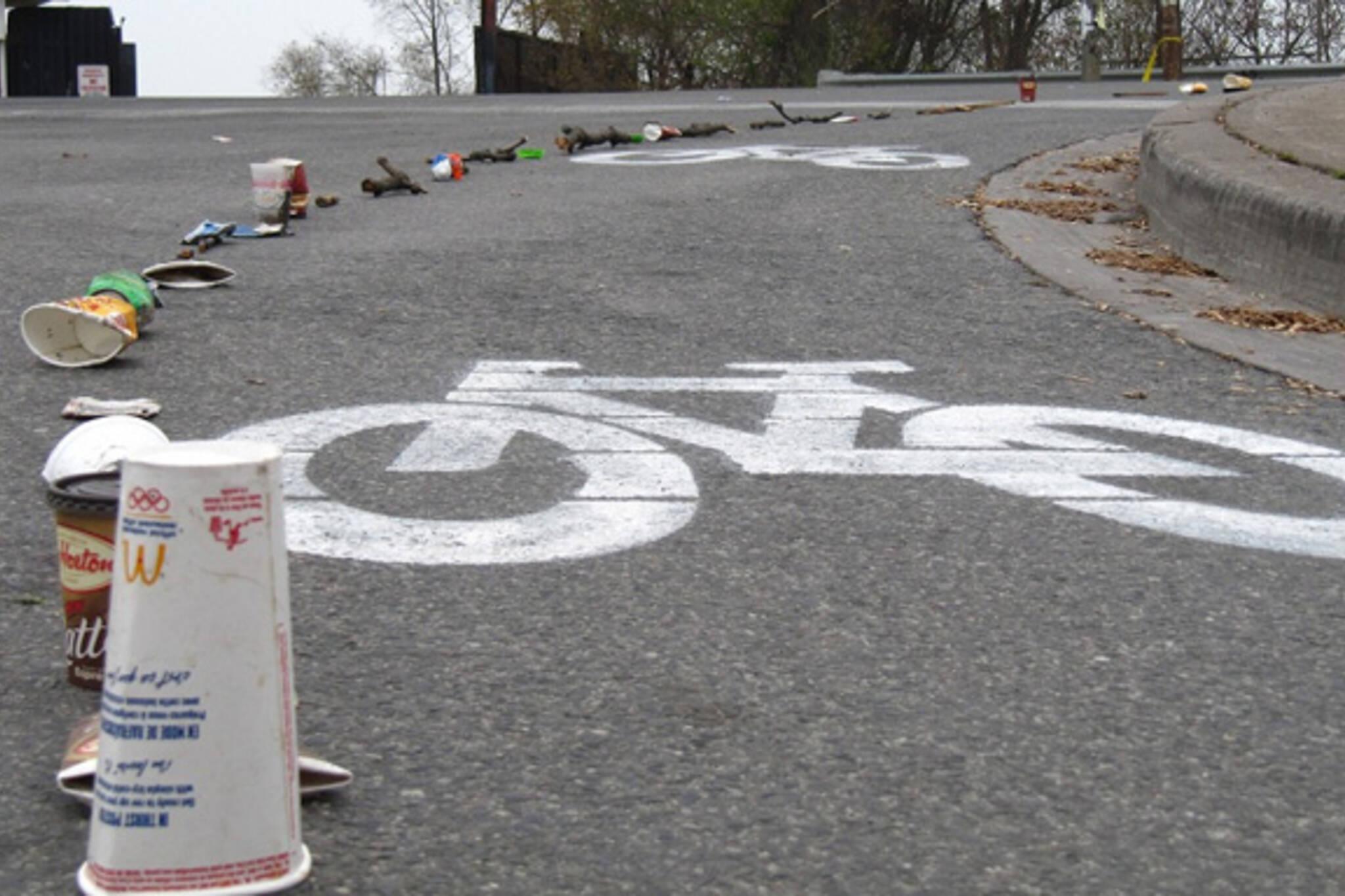 DIY Bike Lane Toronto