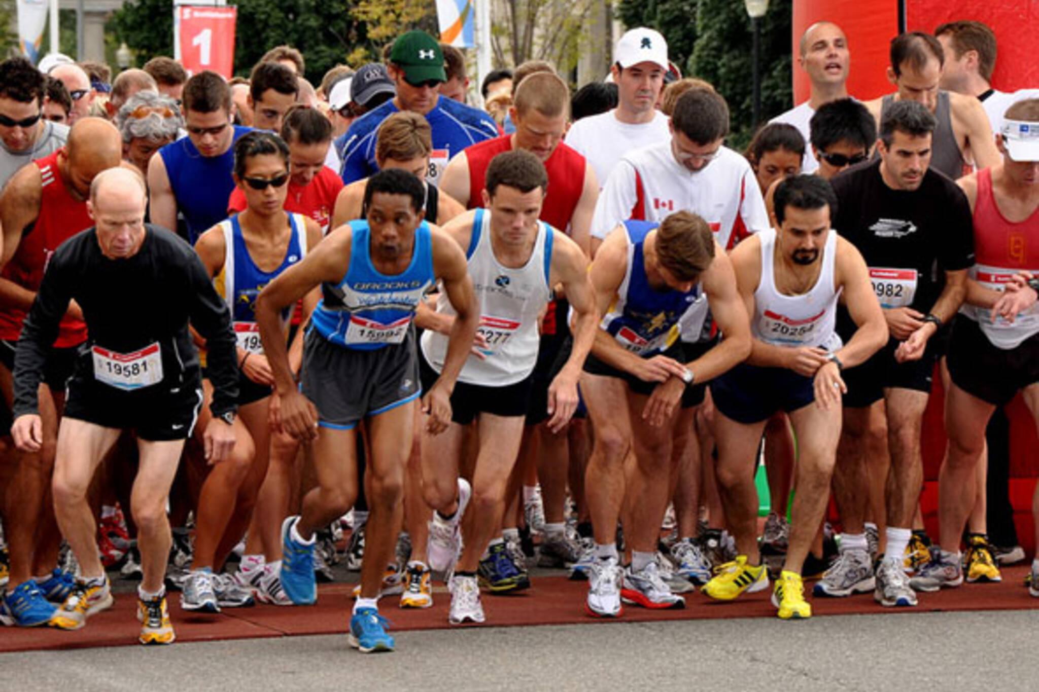 Running Events Toronto 2011