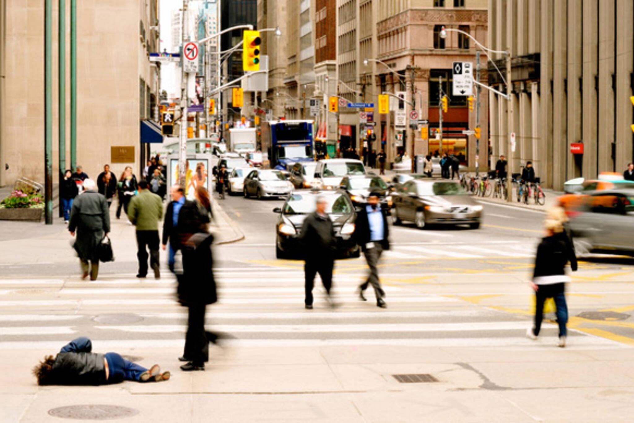 homeless people toronto