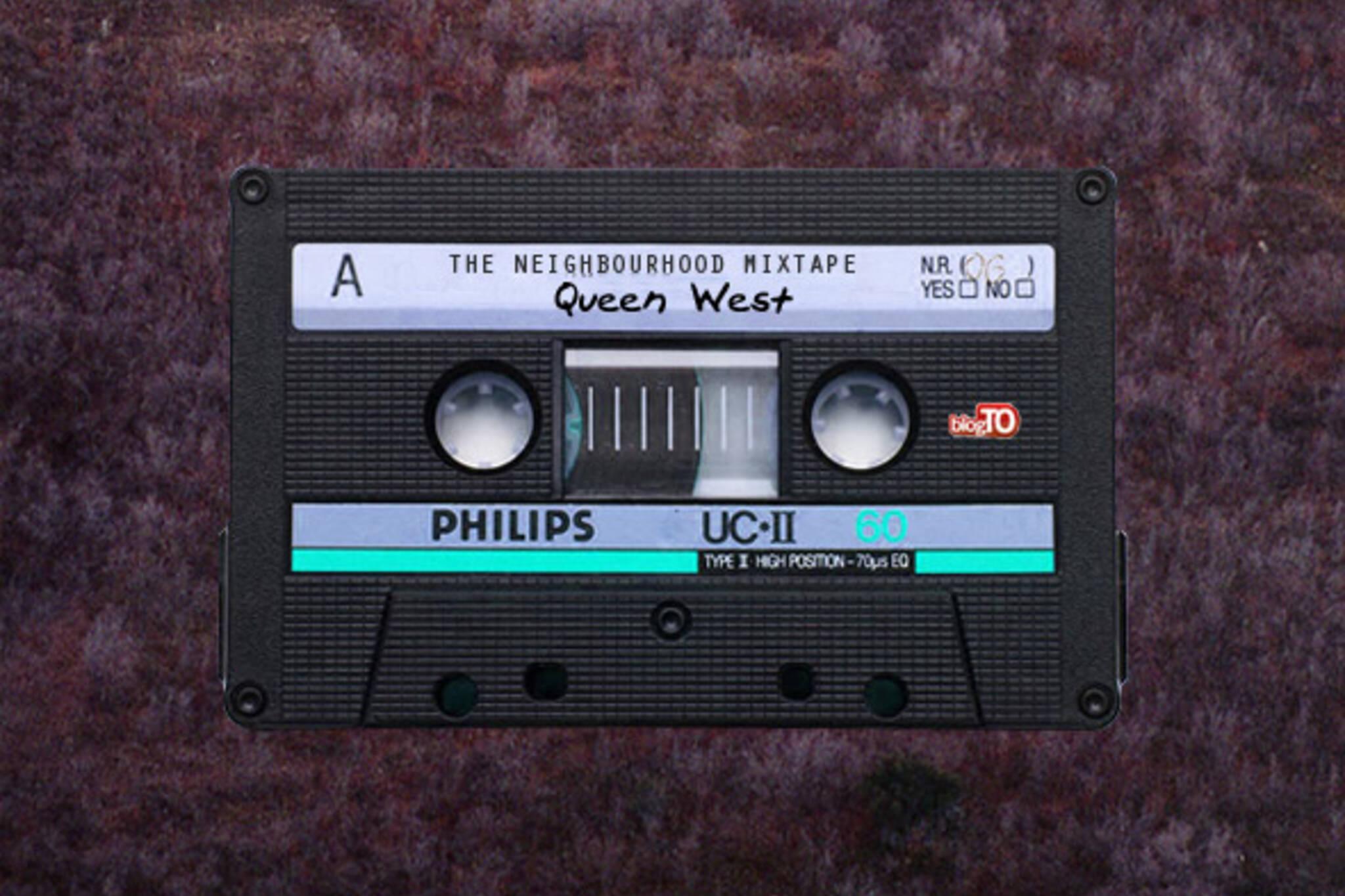 Queen West mixtape Toronto