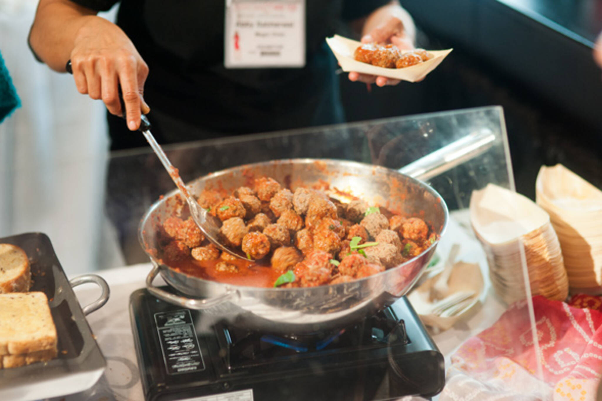 Gourmet food wine expo