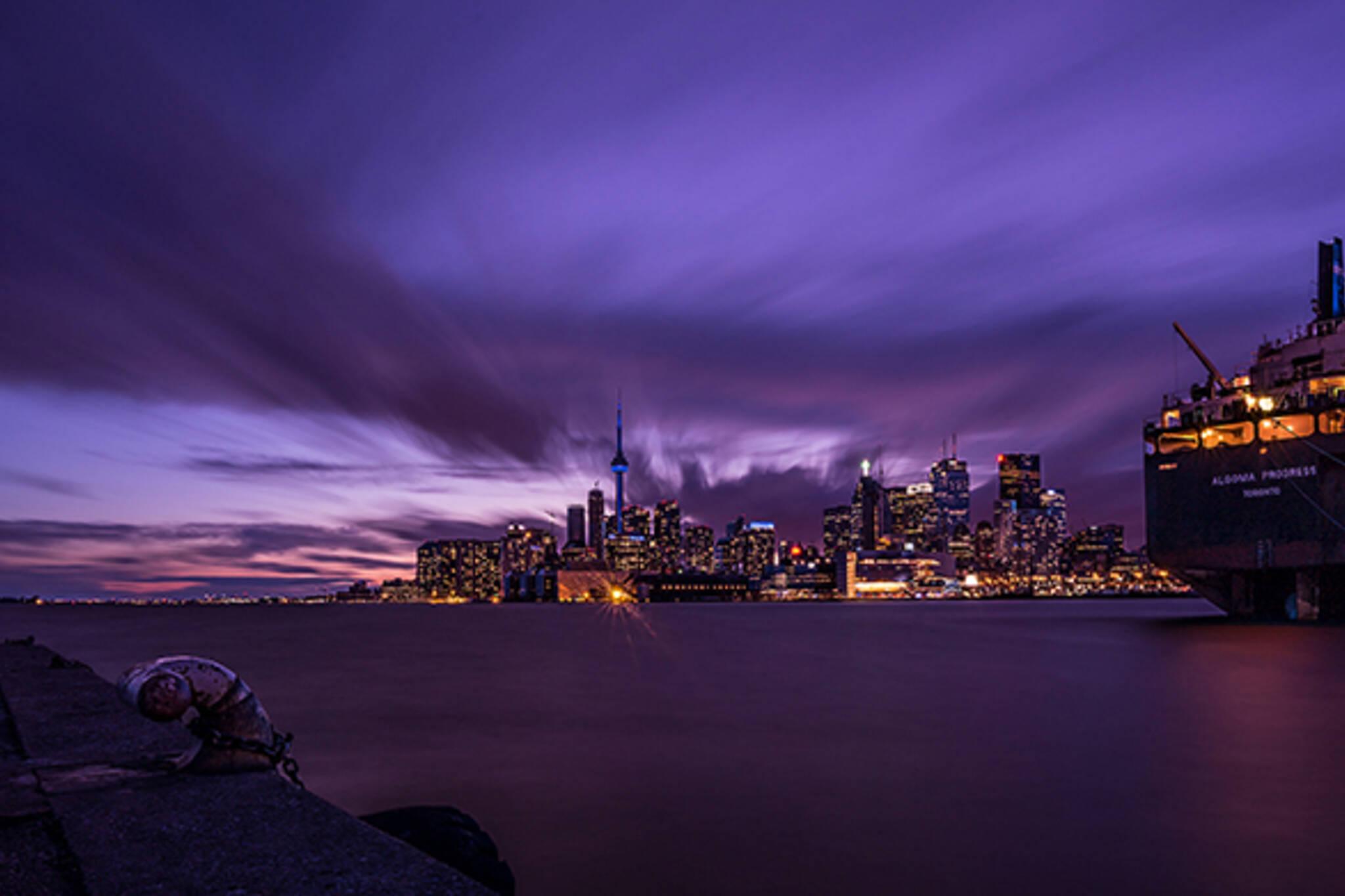 Polson Pier Toronto Skyline