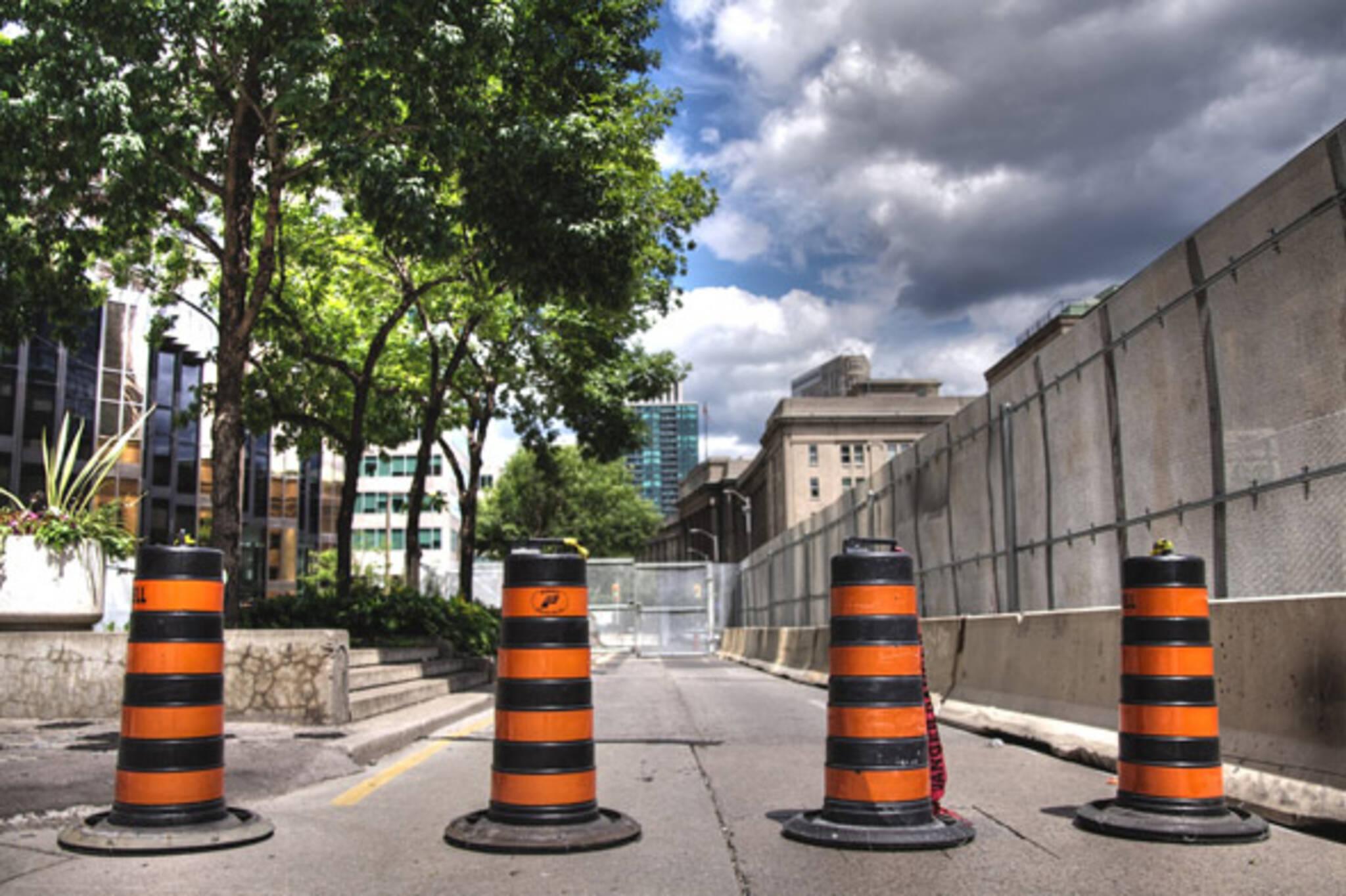 G20 Toronto closures