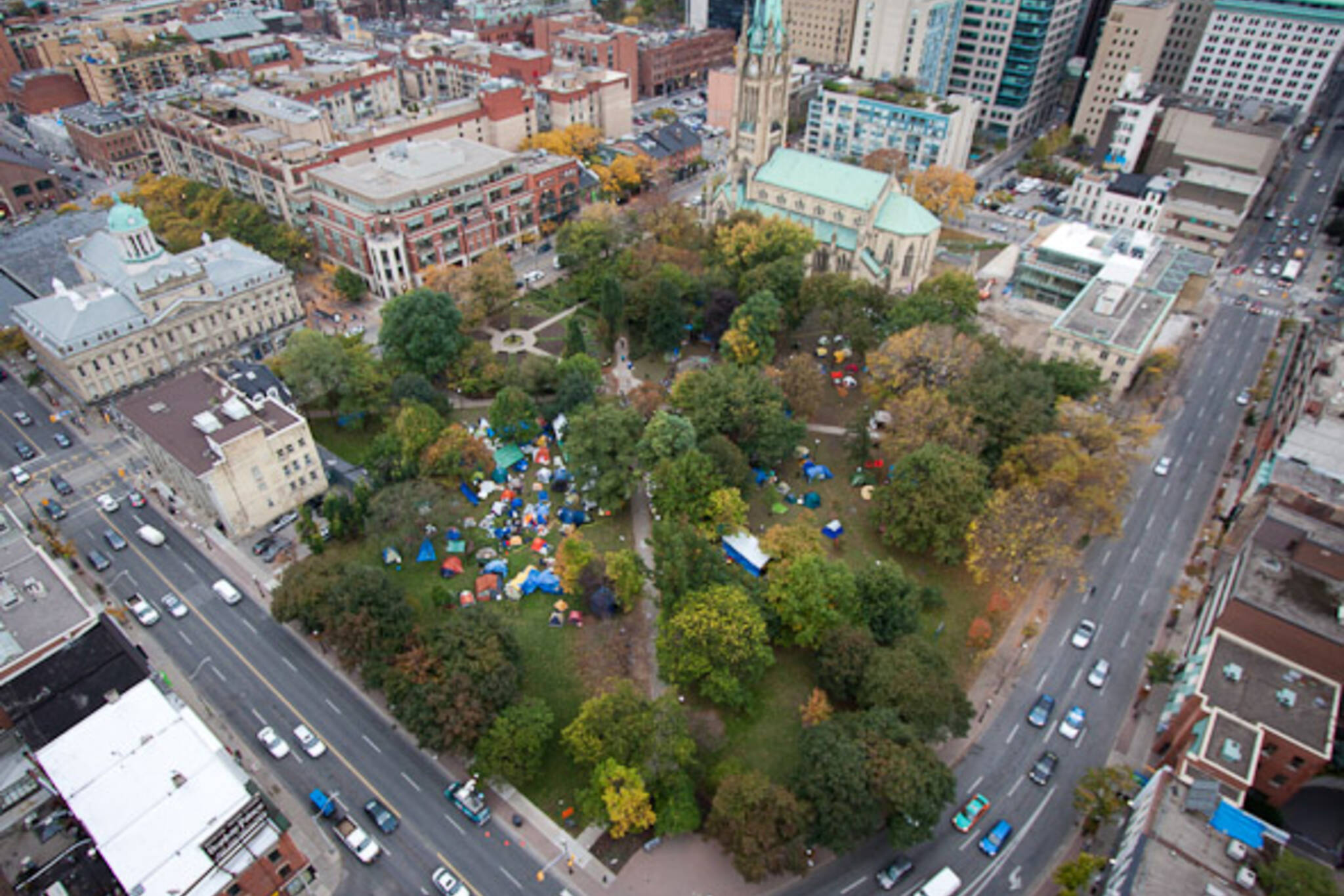 Occupy Toronto Protest Day Four