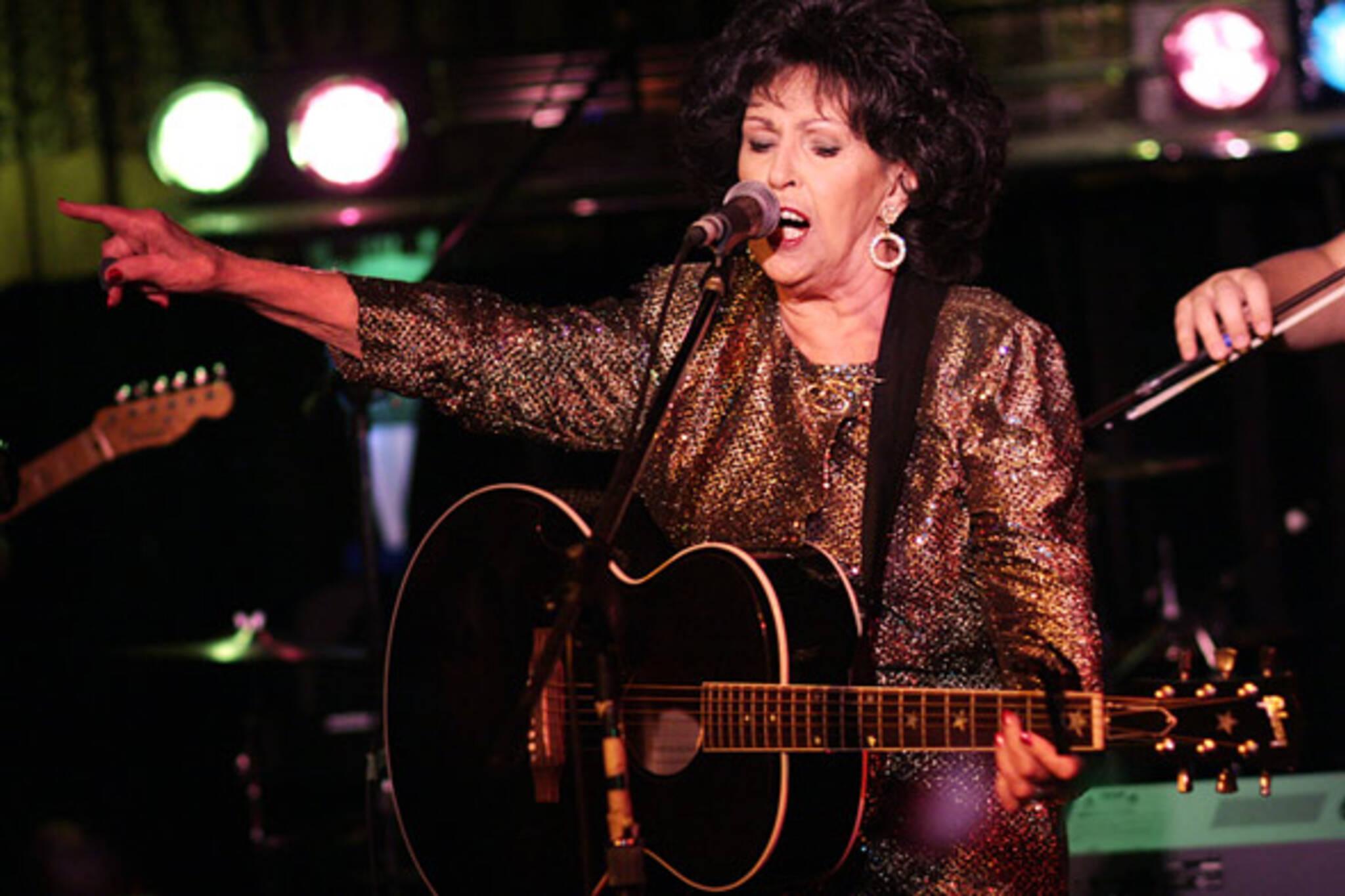 Wanda Jackson rocks the Cadillac Lounge in Toronto