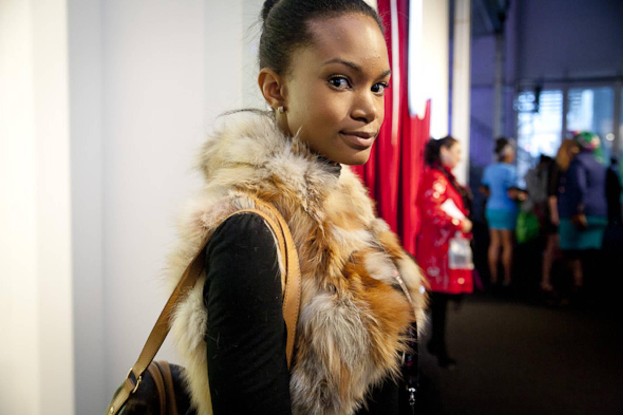 LG Fashion Week Fur