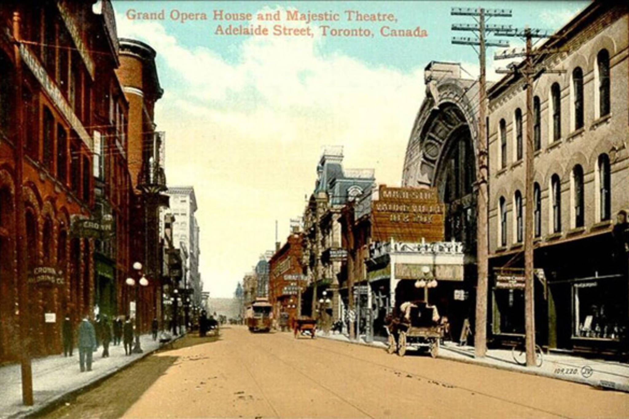 Old Toronto Postcard vintage