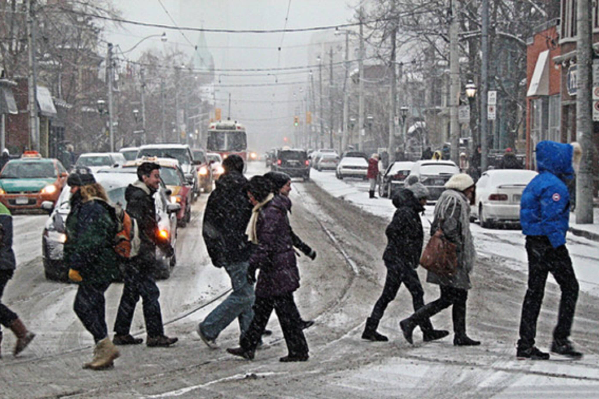 Snow Storm Toronto