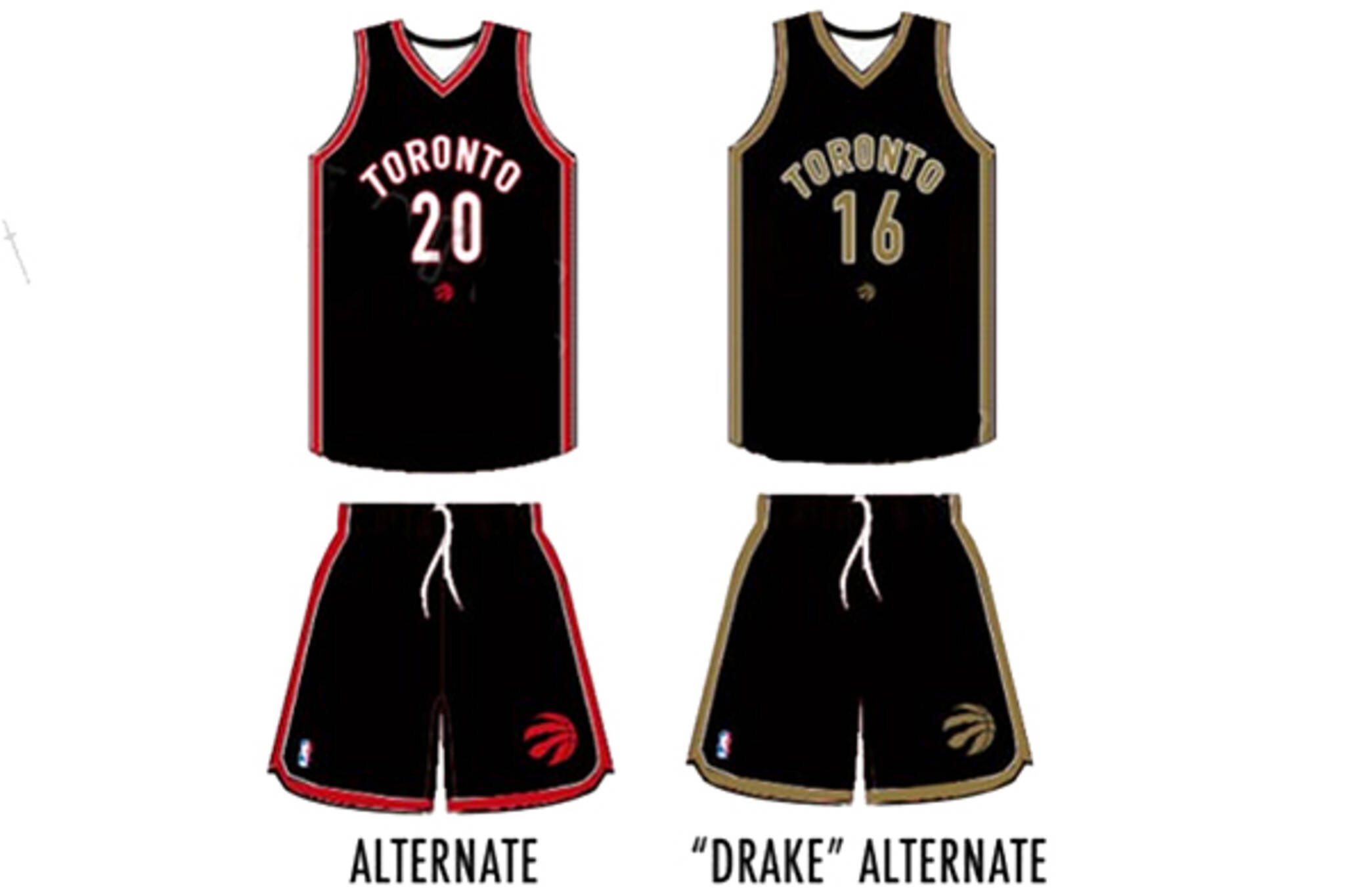 super popular 82638 d5c9a Raptors to wear Drake basketball uniform next year