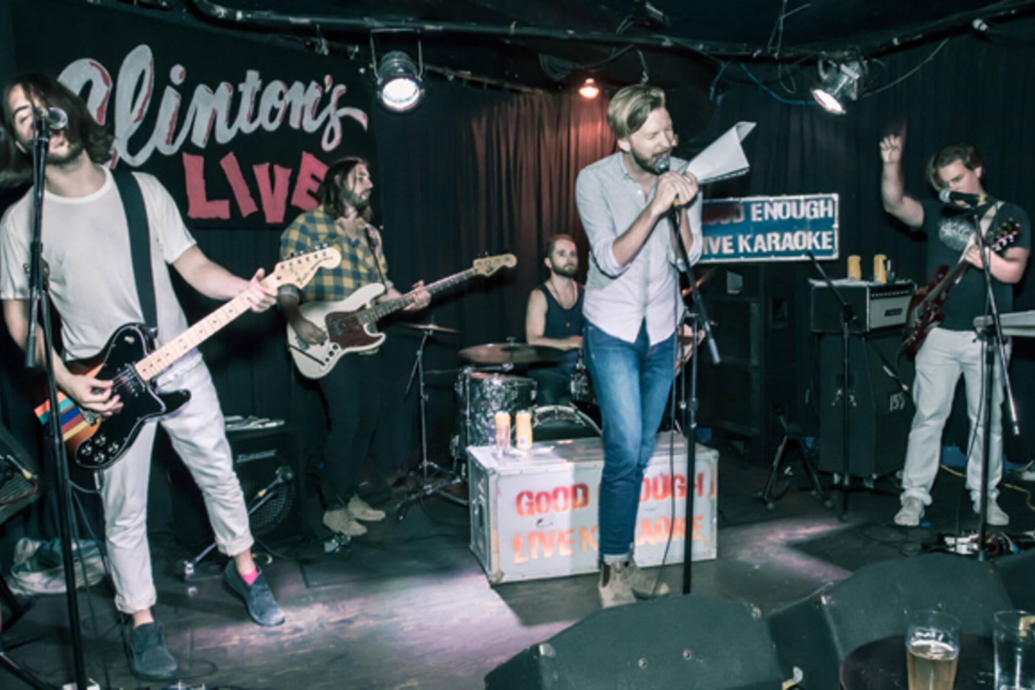 Good Enough live karaoke Toronto