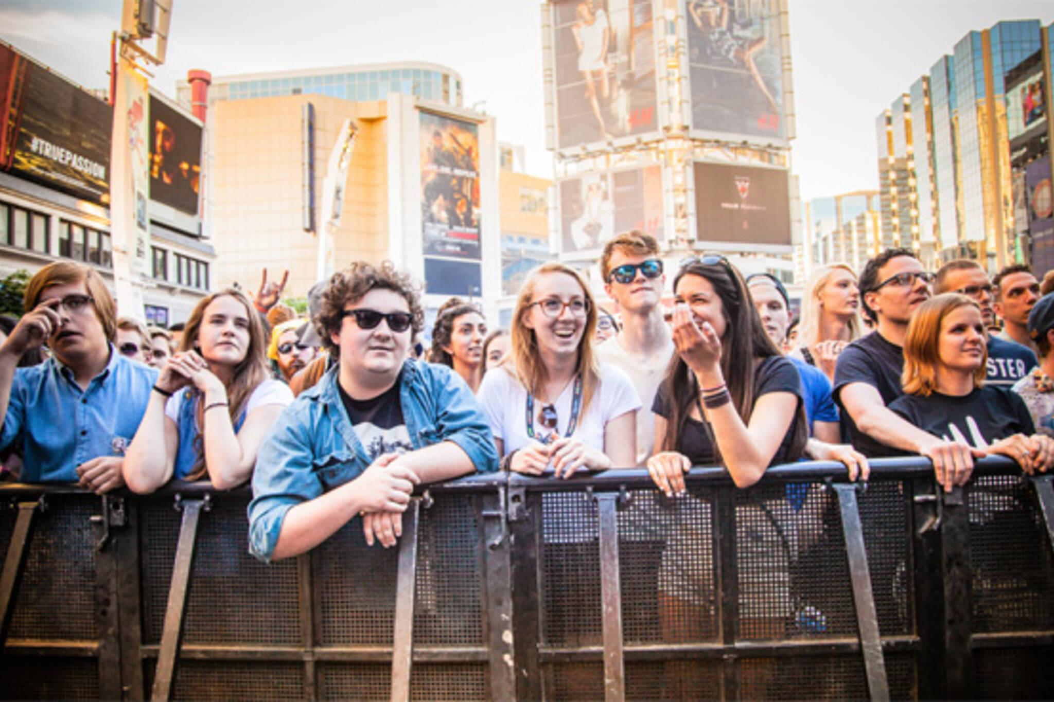 spring music festivals toronto