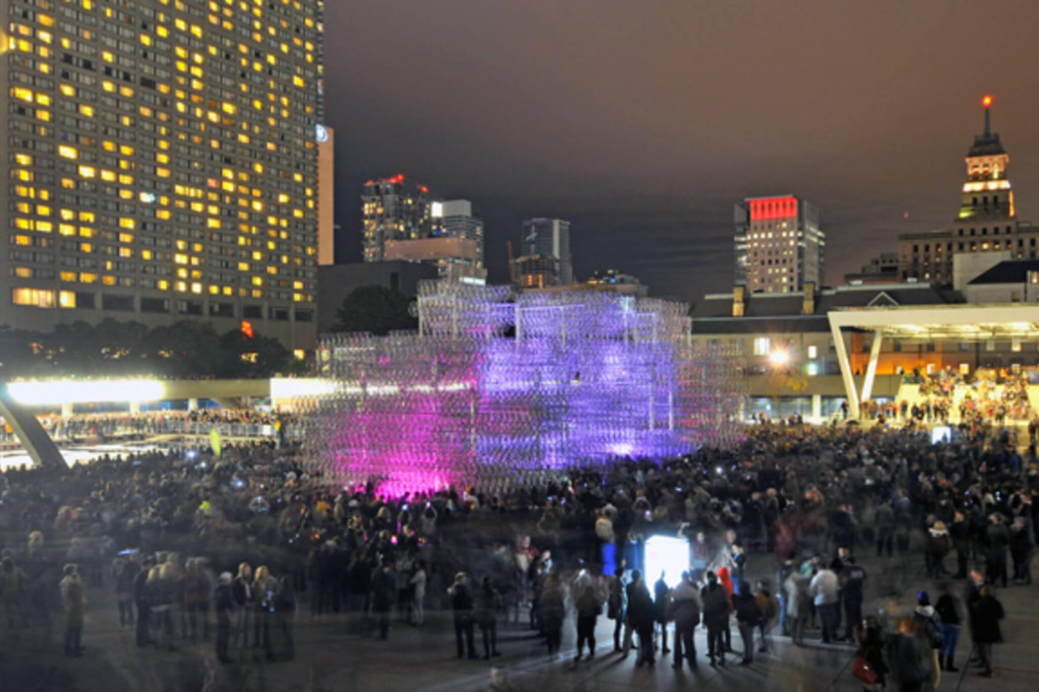 Overheard Nuit Blanche Toronto