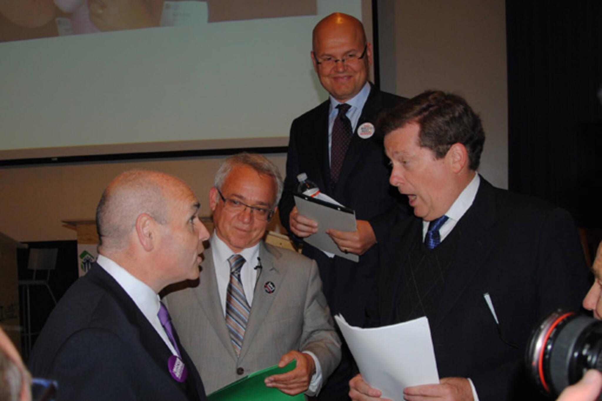 toronto mayoral race 2010