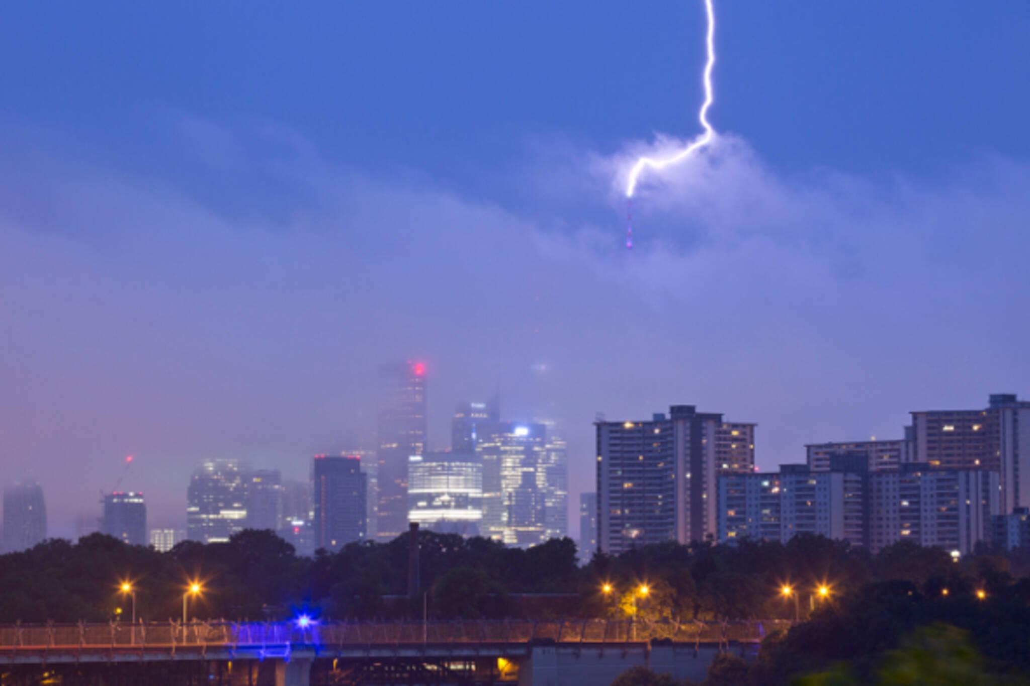 Toronto thunderstorm