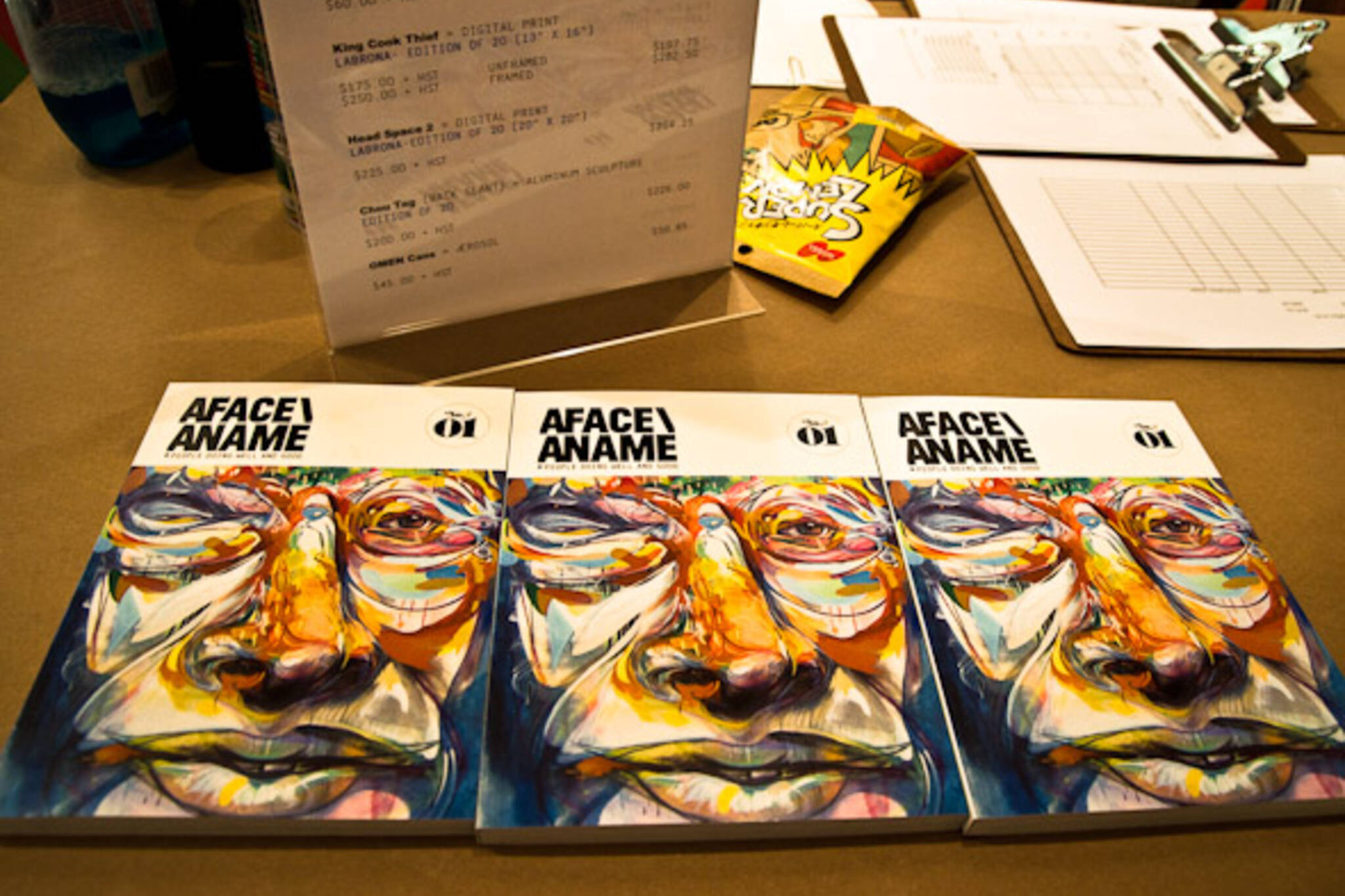 A Face a Name book launch