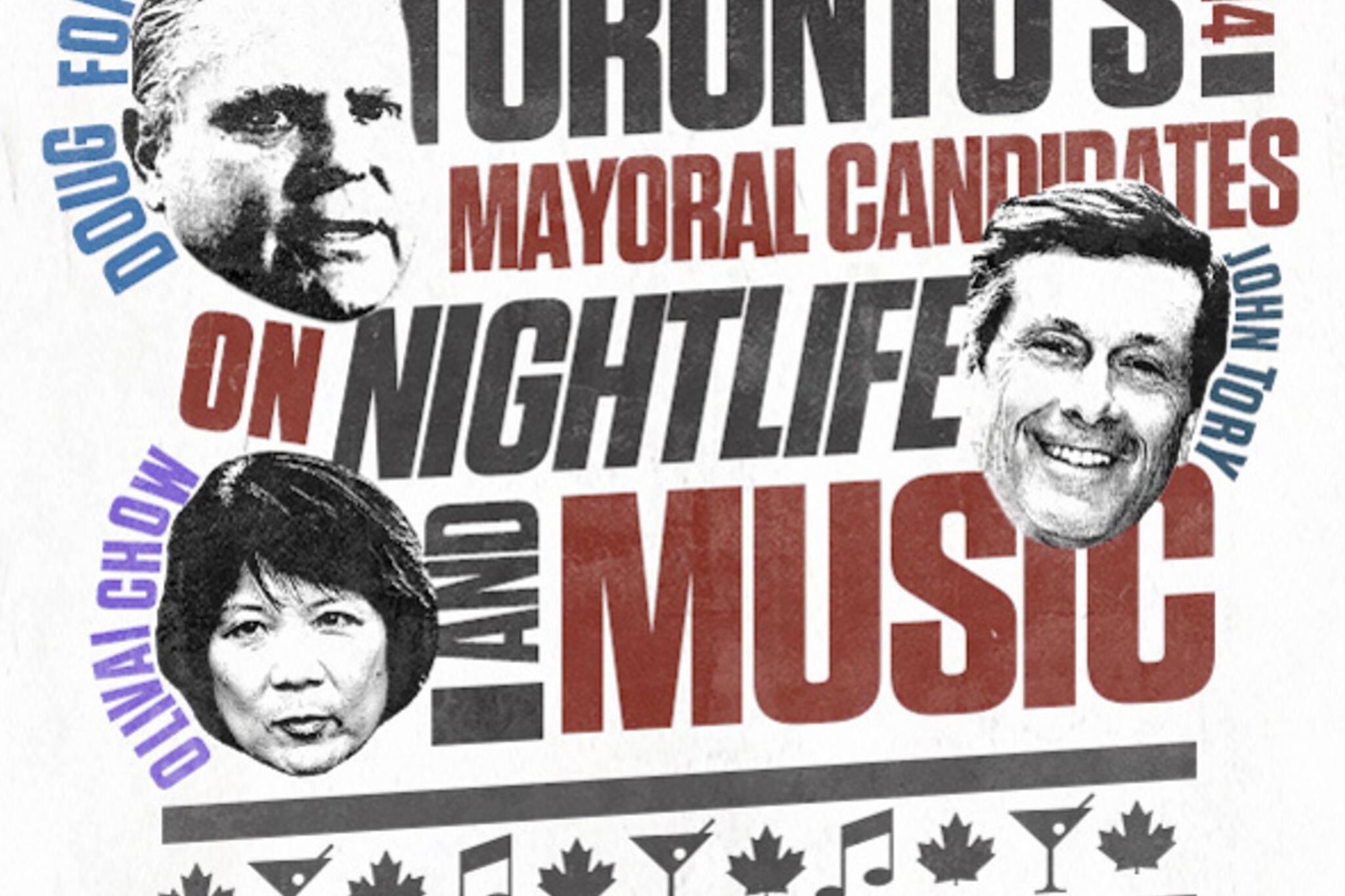 Music Toronto election