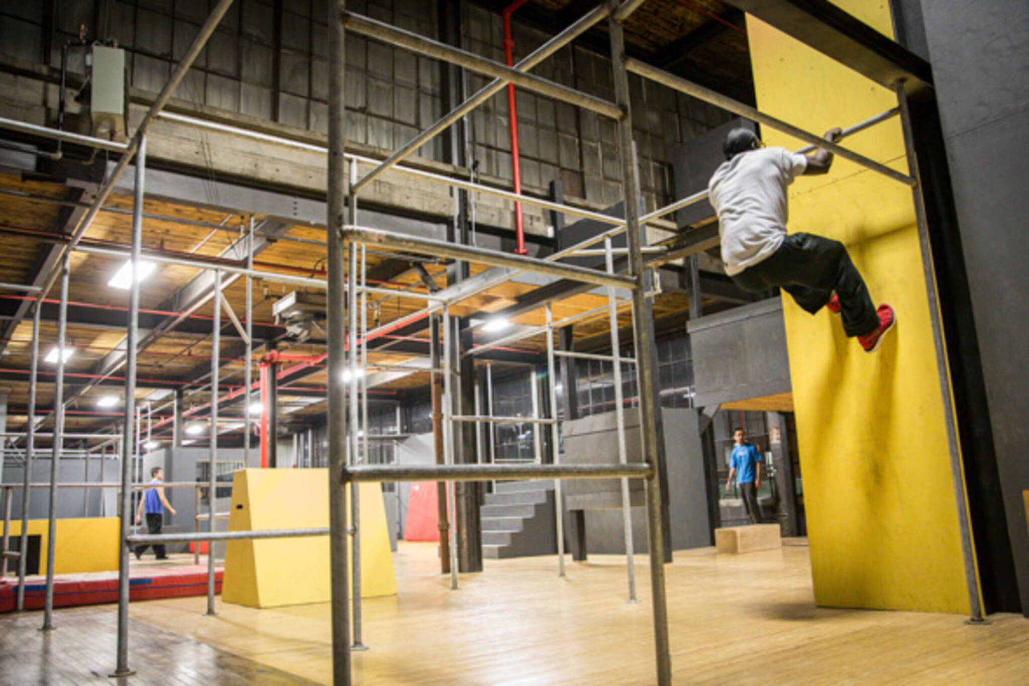 Where to learn parkour in Toronto