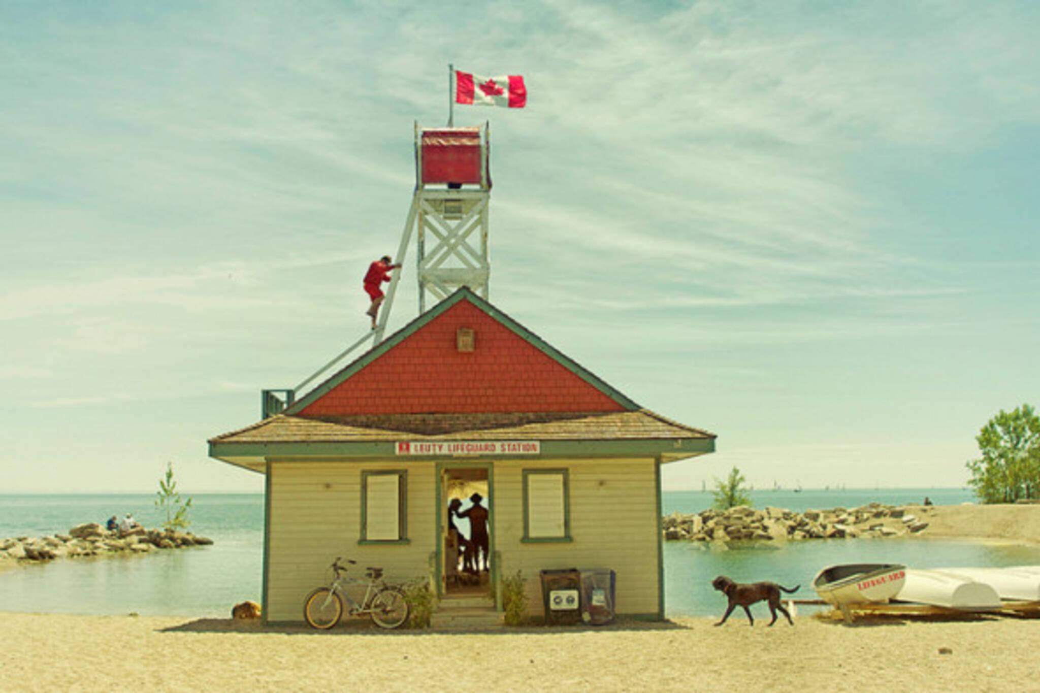Leuty Lifeguard Station