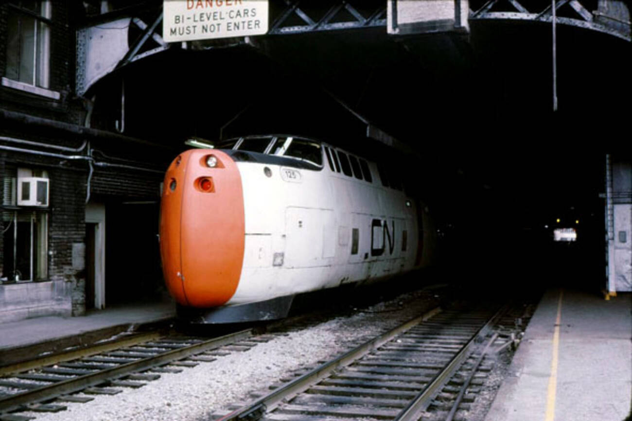 A Brief History Of Toronto S High Speed Turbotrain