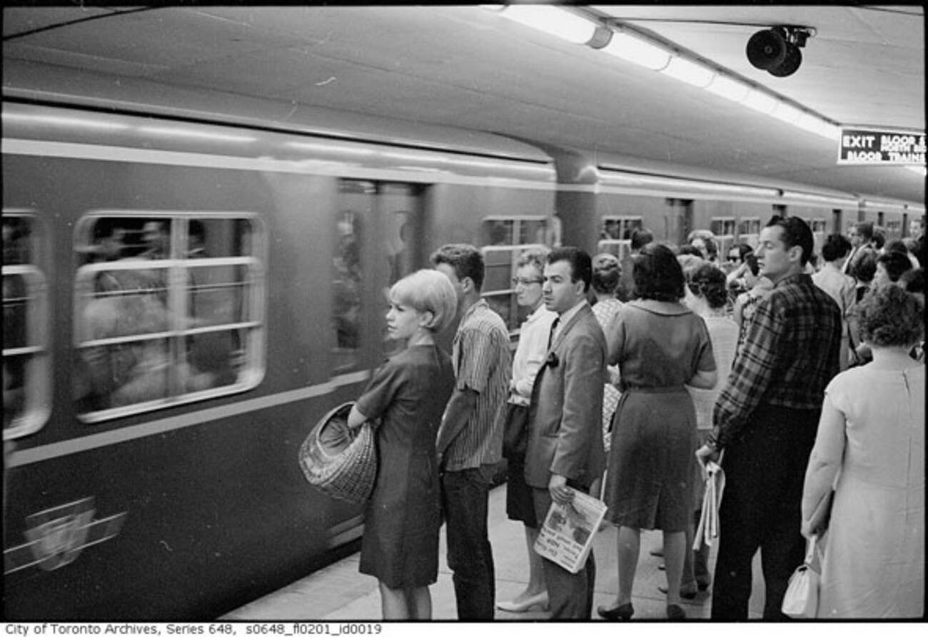 What Rush Hour Used To Look Like On The Ttc