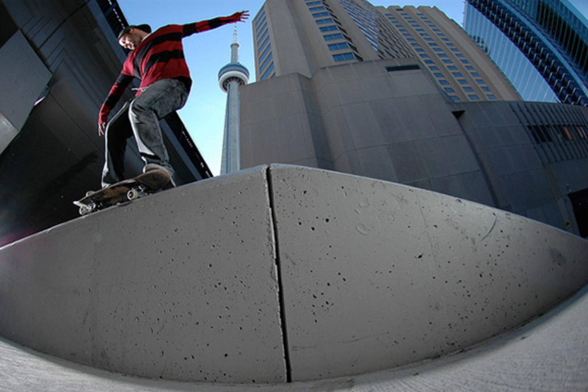 skate, cn,, tower