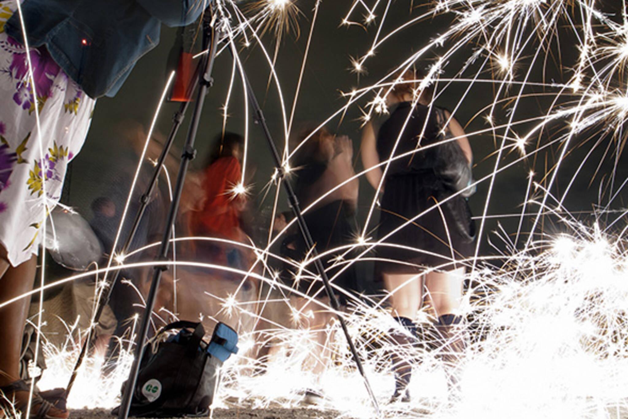 Victoria Day fireworks Toronto 2014