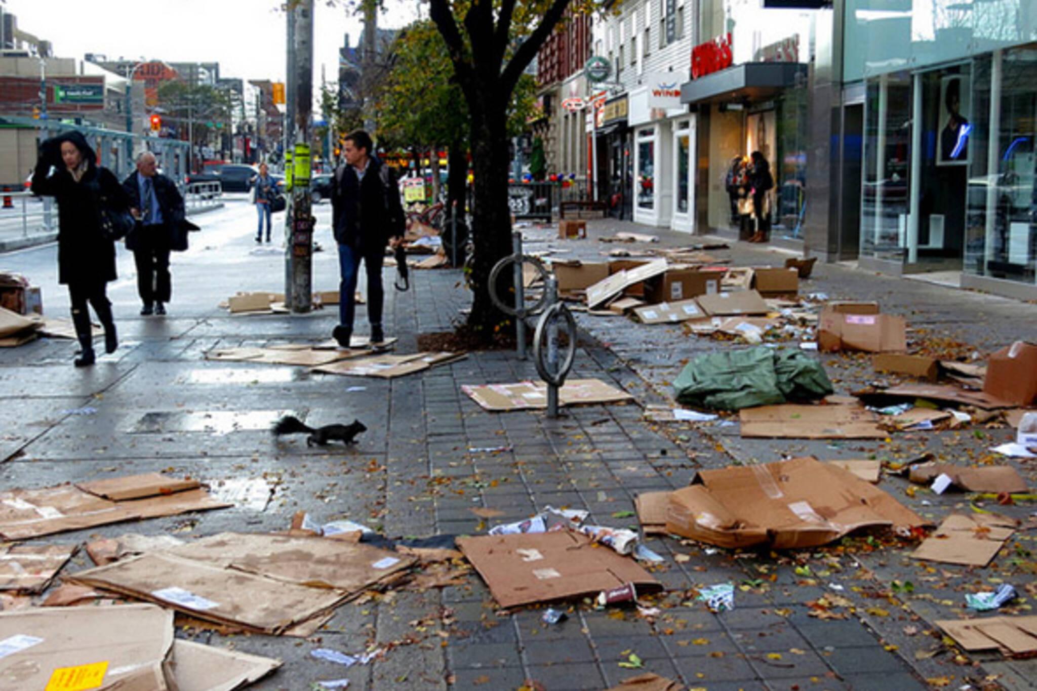 Sandy Storm Toronto