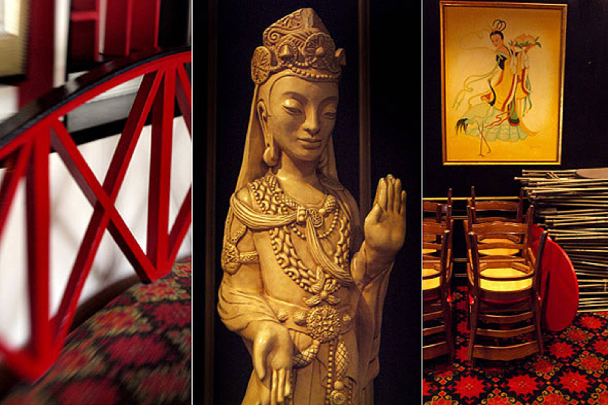 China House closing triptych