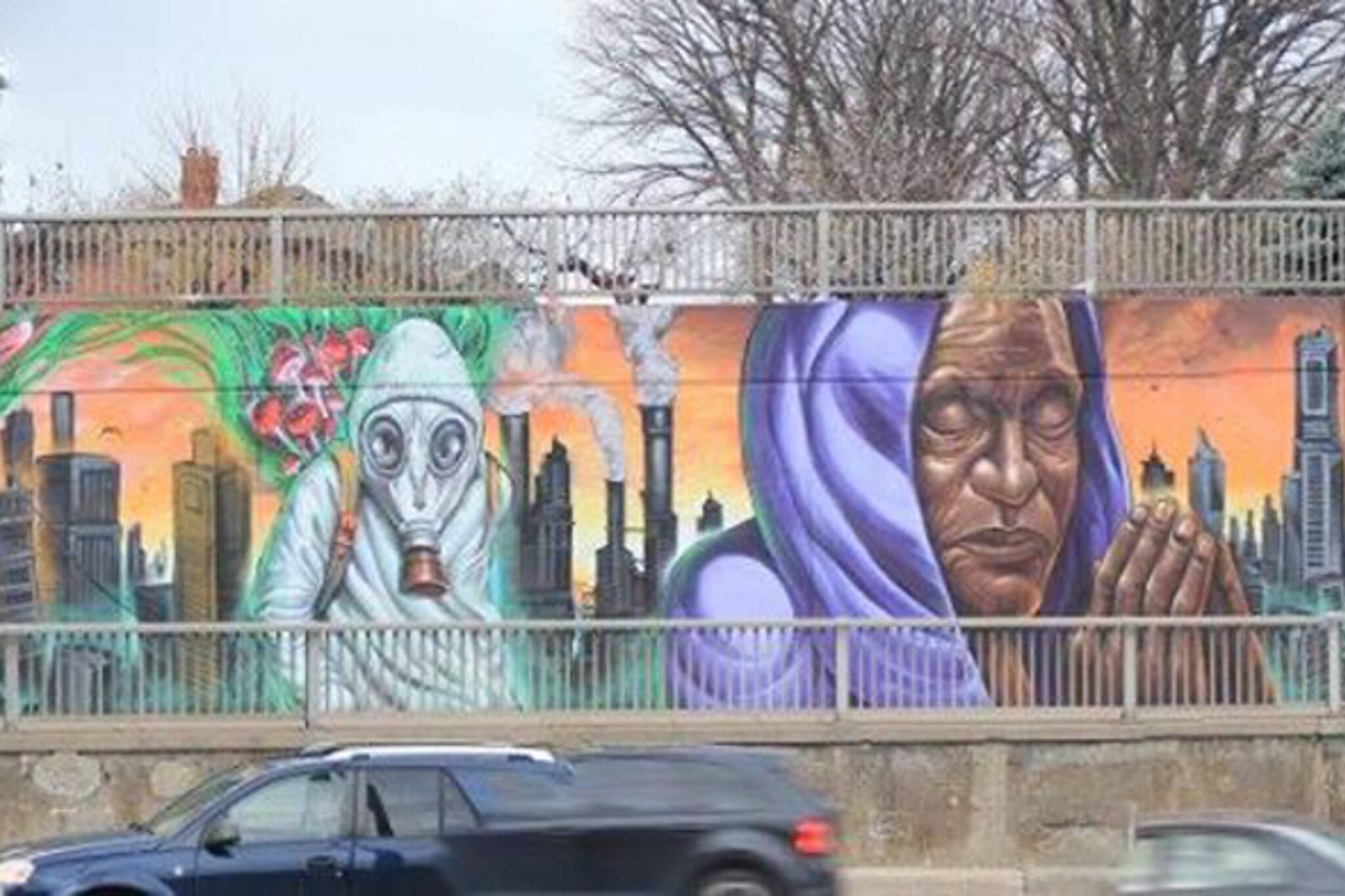 Toronto mural inspired by climate change sparks uproar mural toronto amipublicfo Image collections