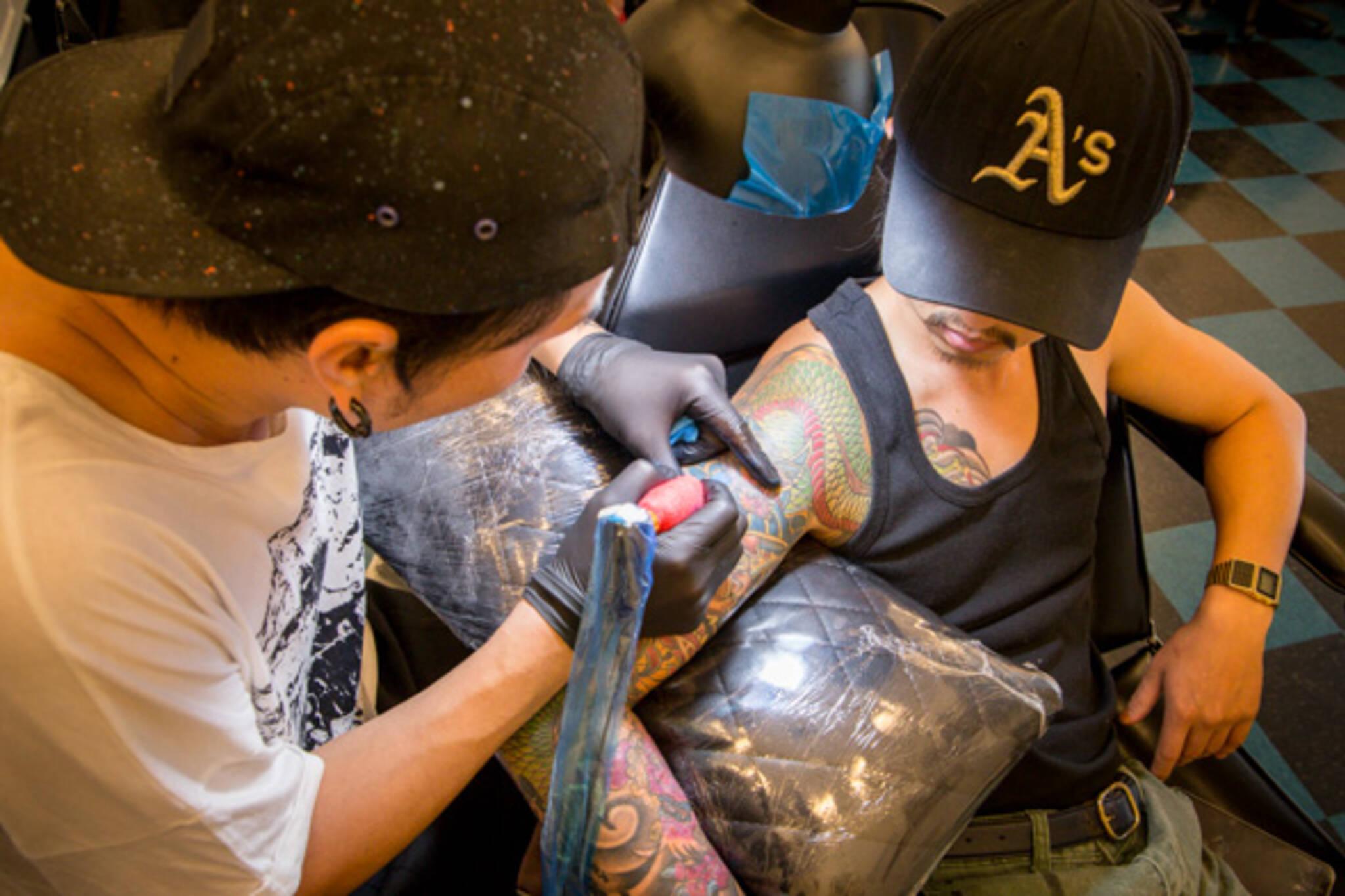 tattoo people toronto