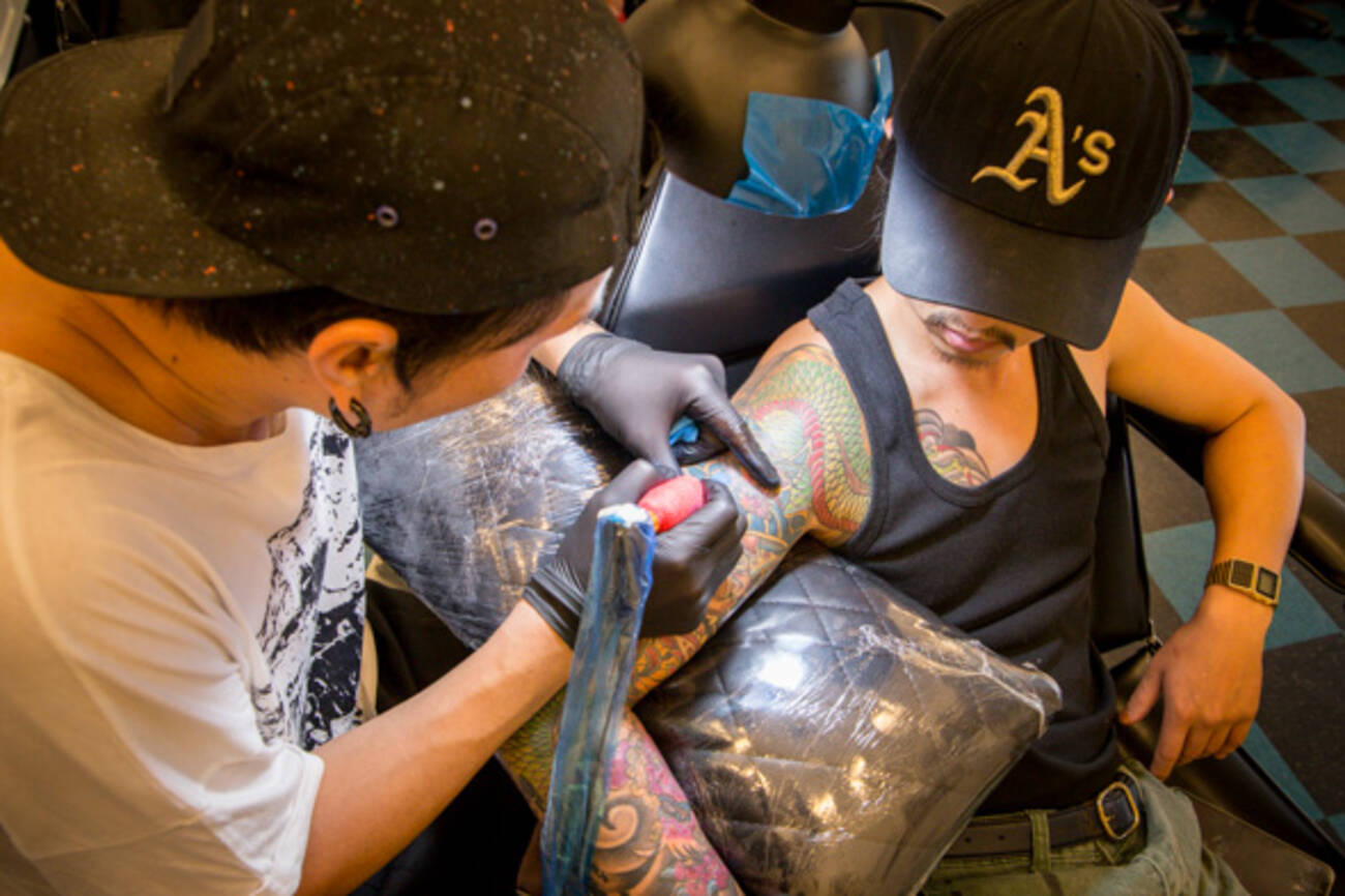 korean tattoo chain sets up shop in the annex