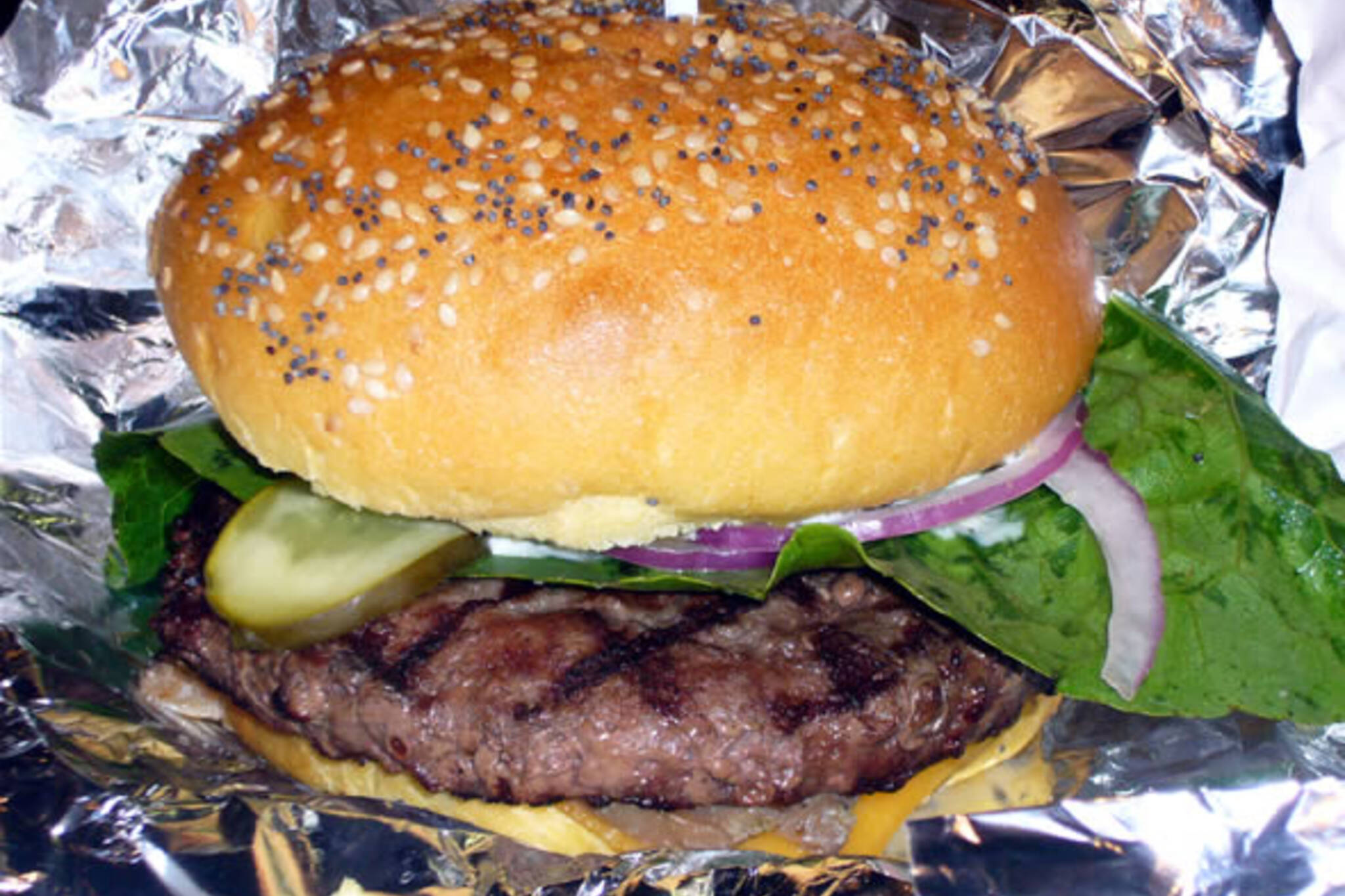 mmm...beefy: 100% angus acme burger