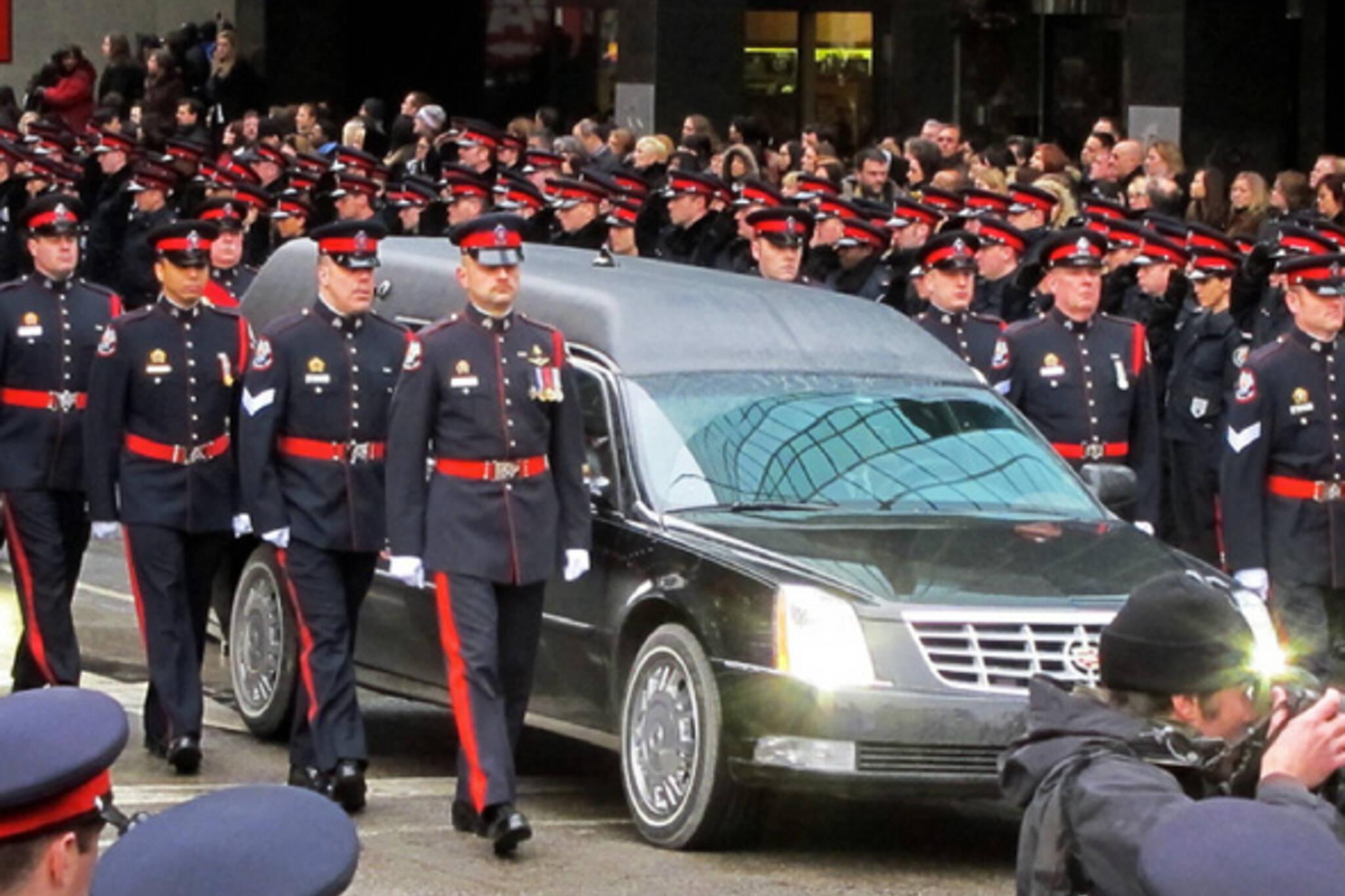 Ryan Russel Funeral Toronto