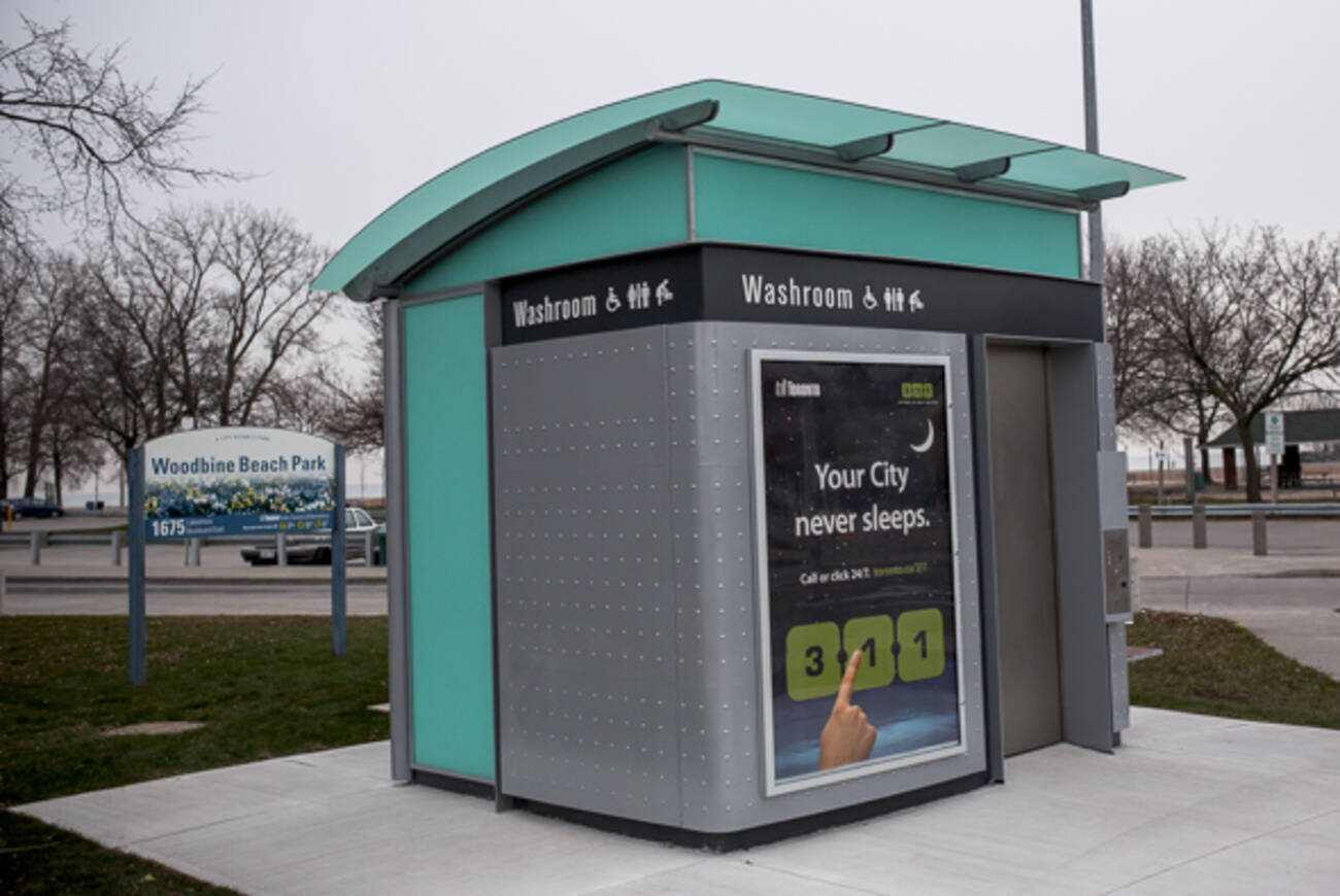 Toronto S Second Public Pay Toilet Lands In The Beaches