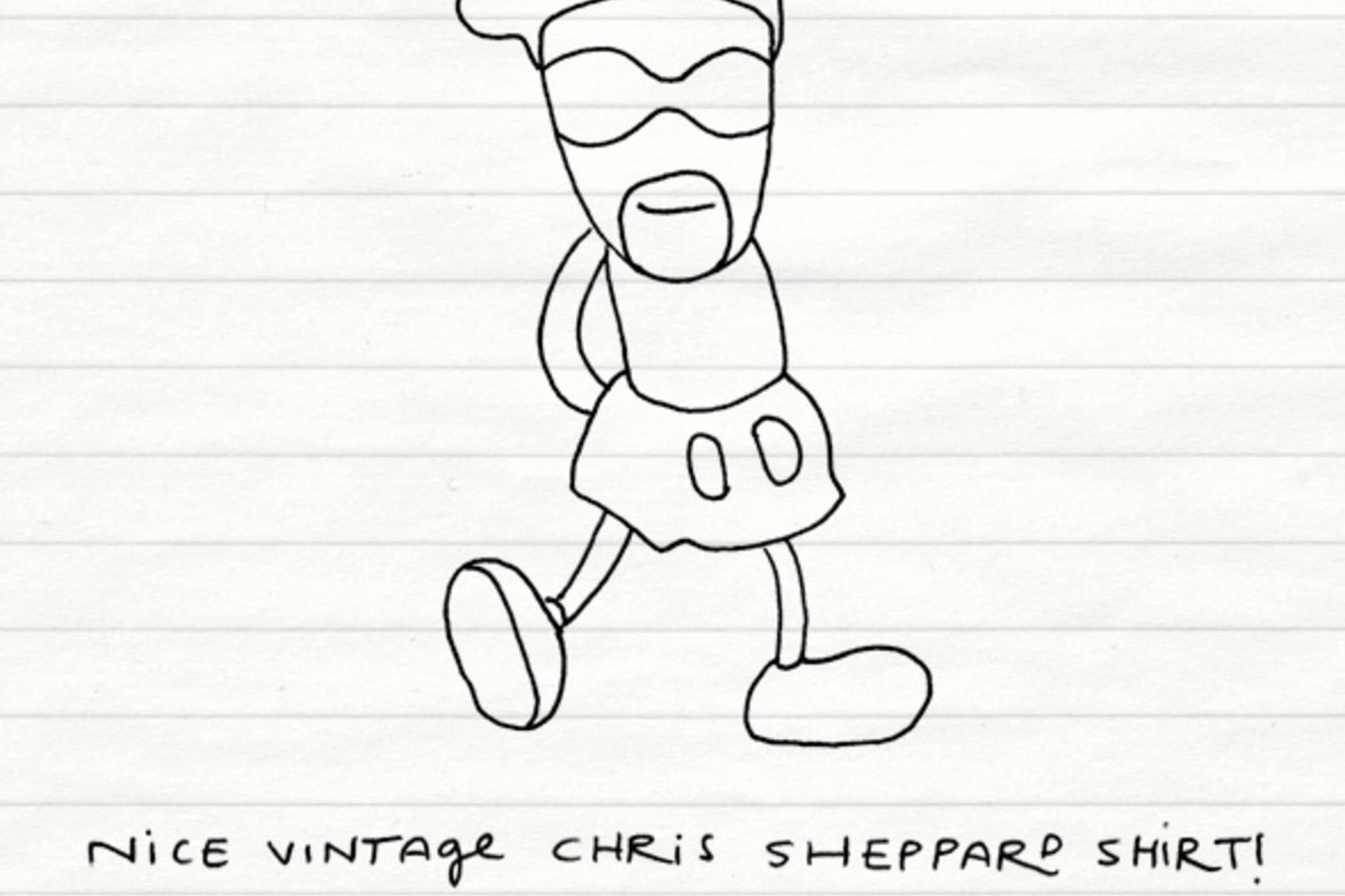 noteTOself rare chris sheppard