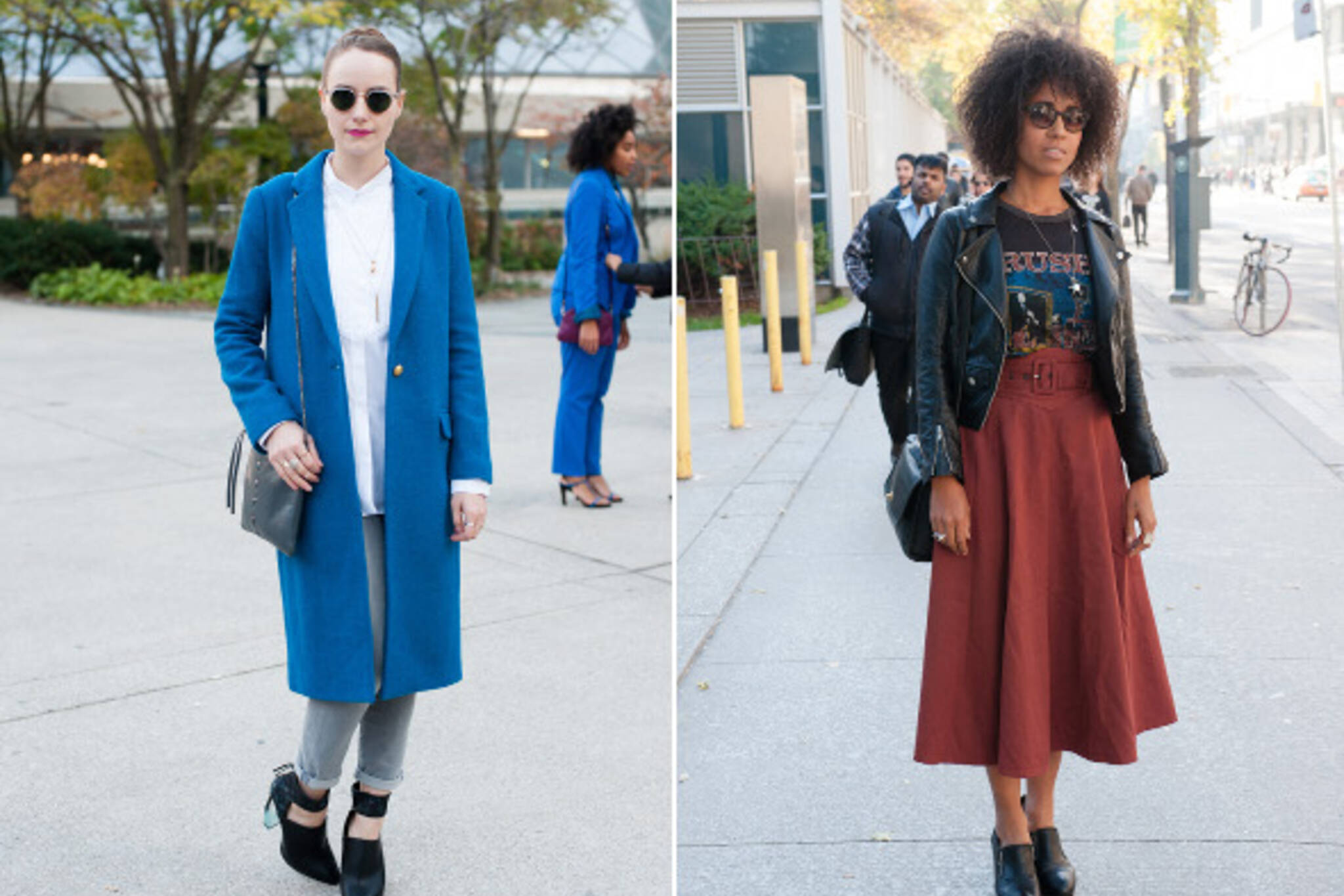 toronto fashion week street style