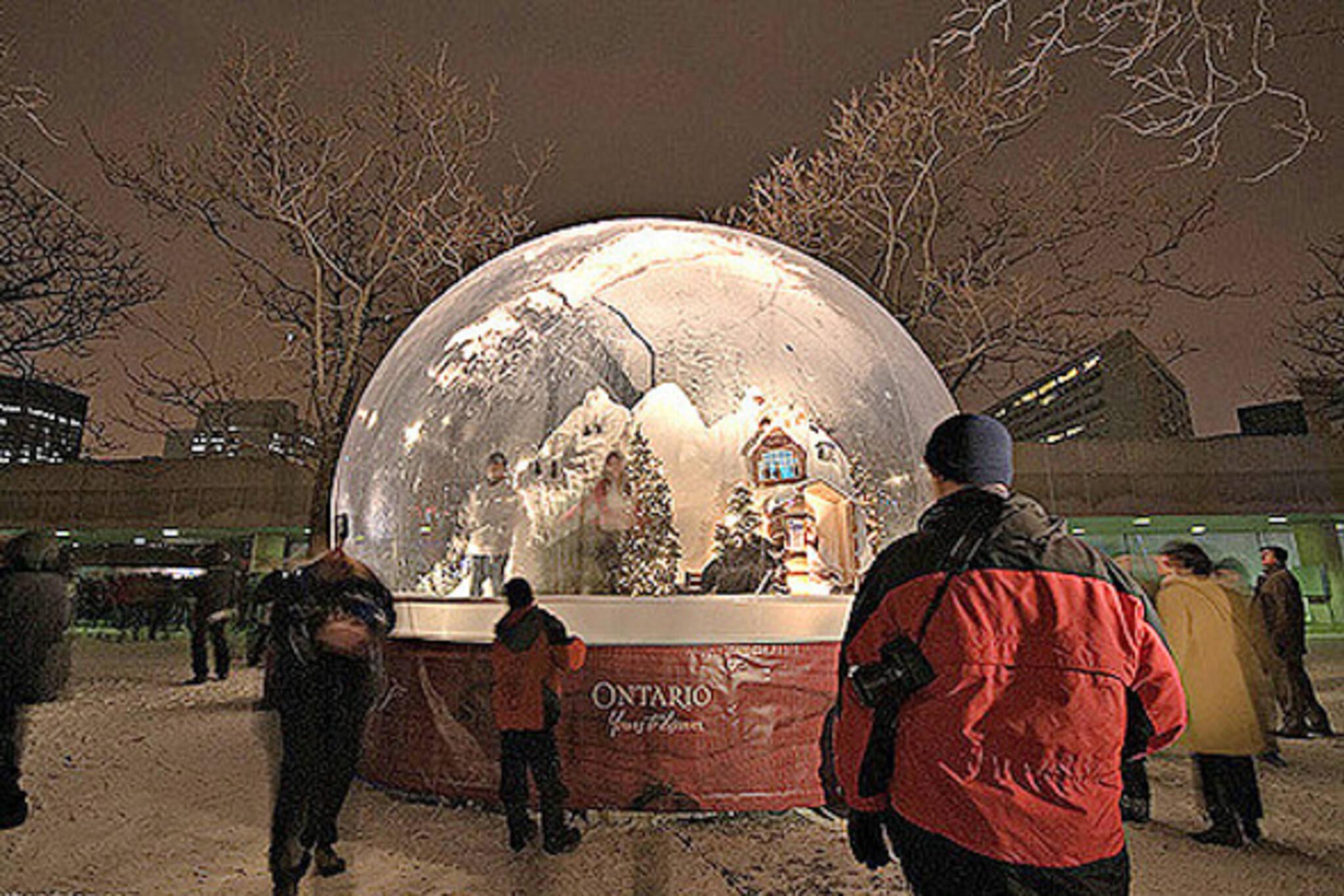 snow globe toronto