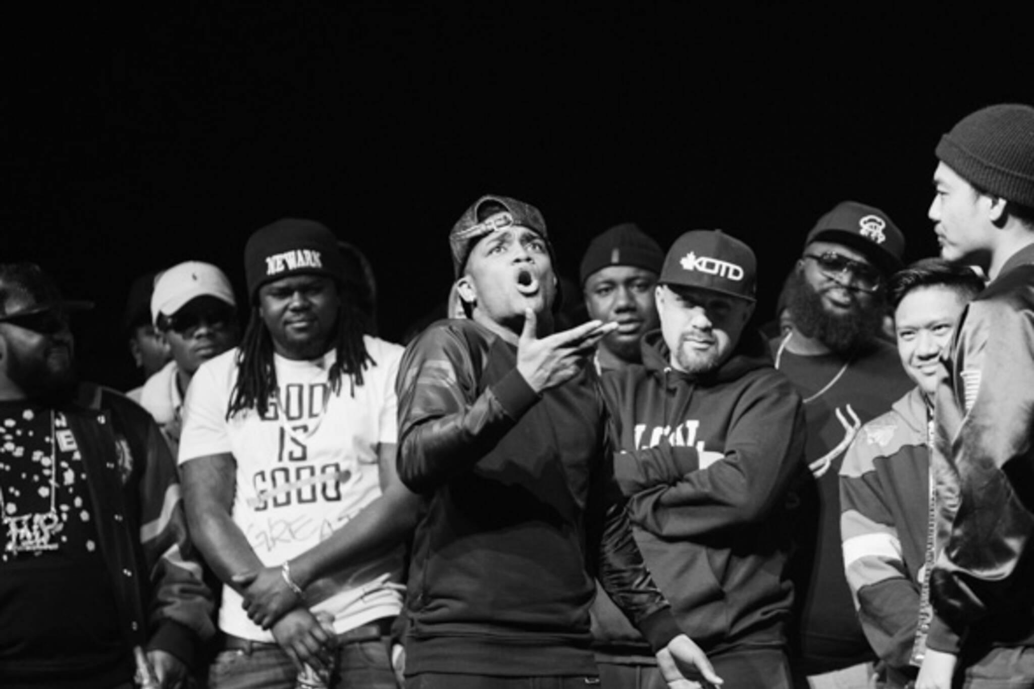 Blackout Rap Battle