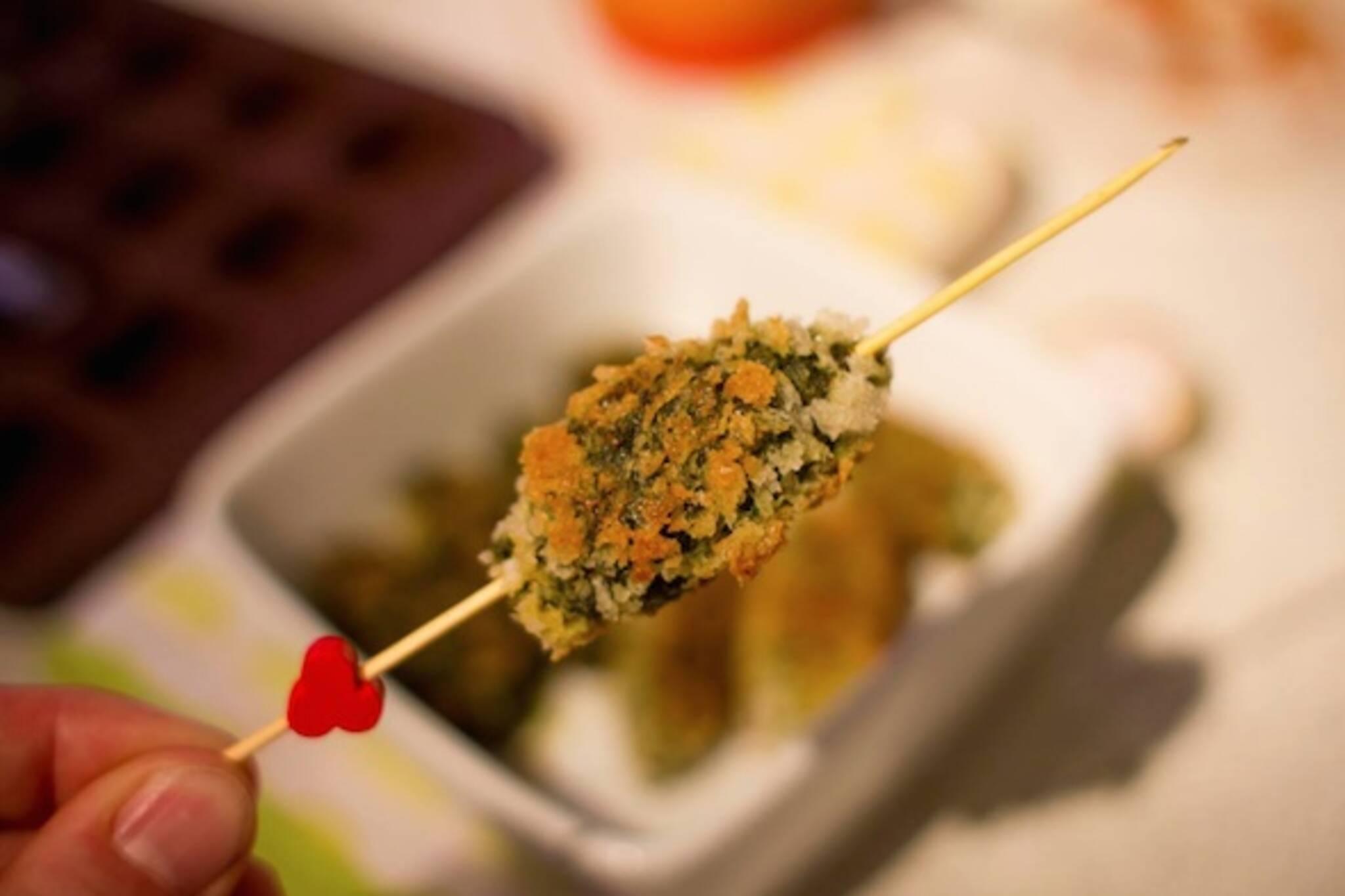 Cookie Martinez cricket kebab