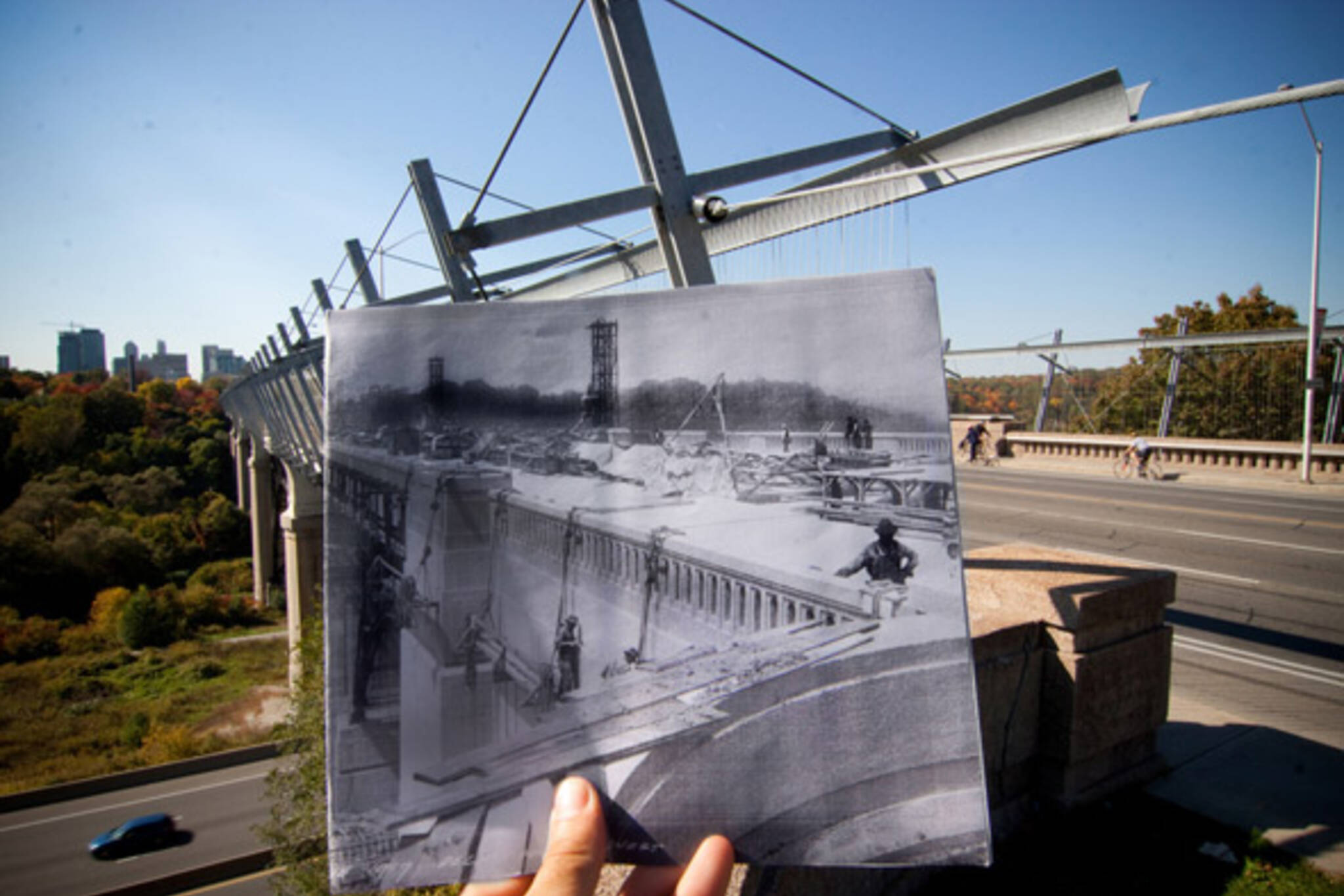 bloor viaduct then and now