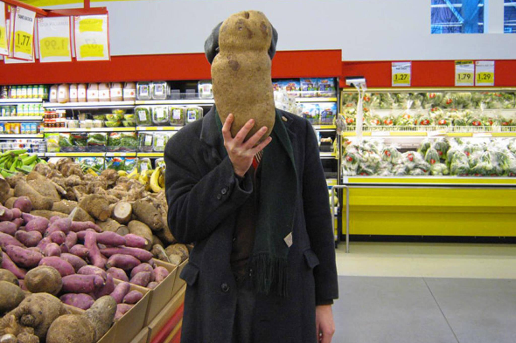 Huge potato