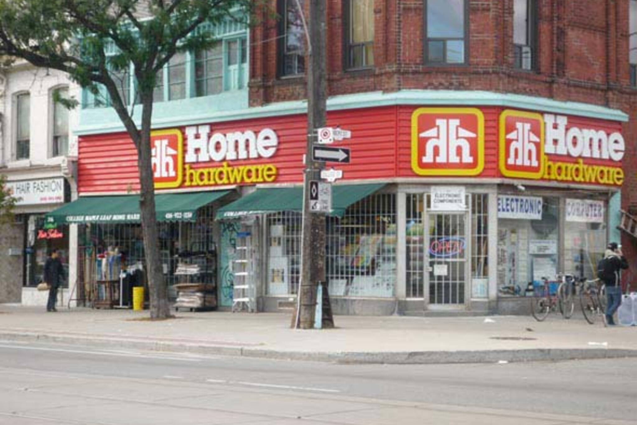 The Home Hardware on College
