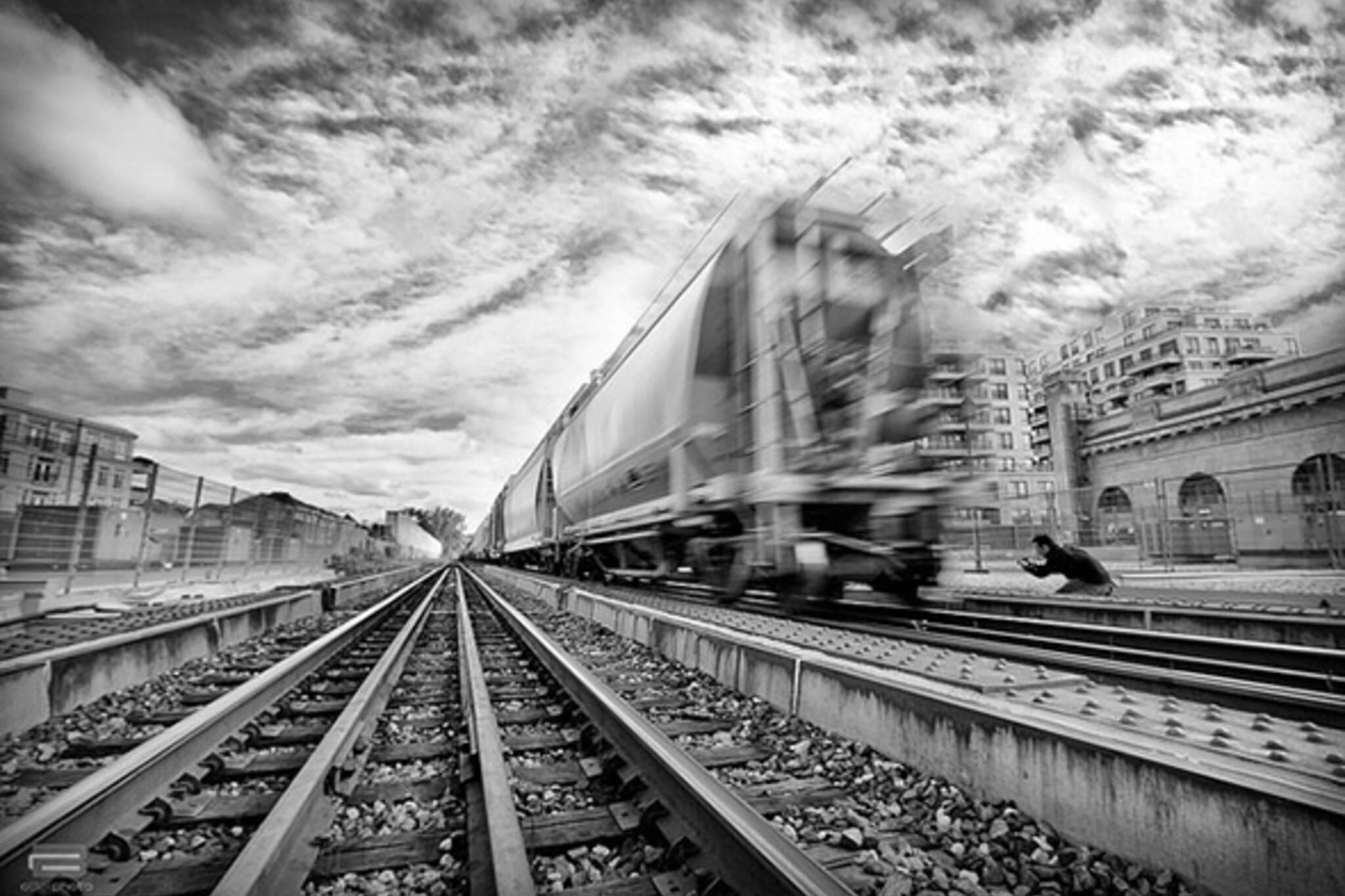 train, crazy, run